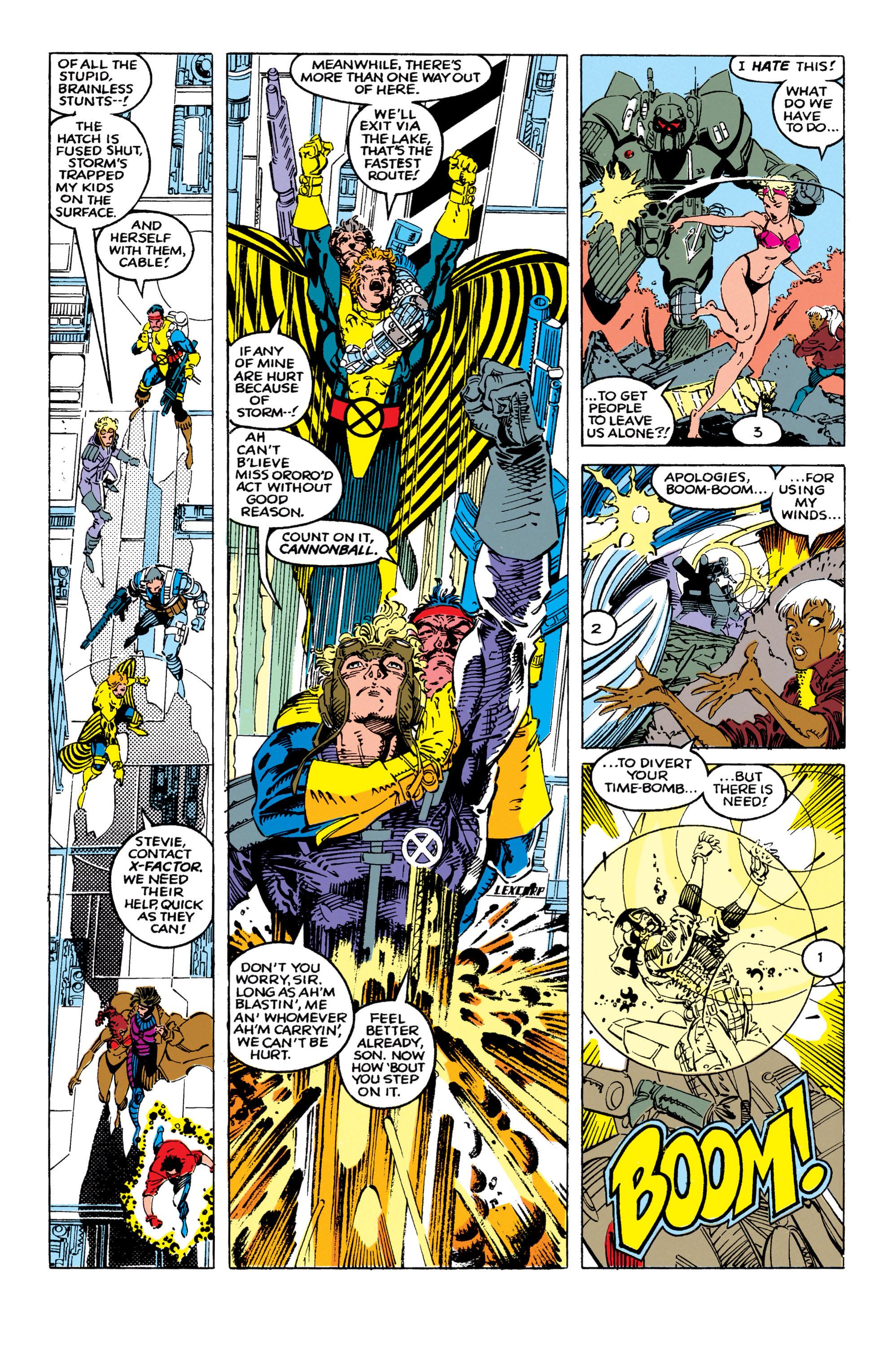 Read online Uncanny X-Men (1963) comic -  Issue #270 - 18