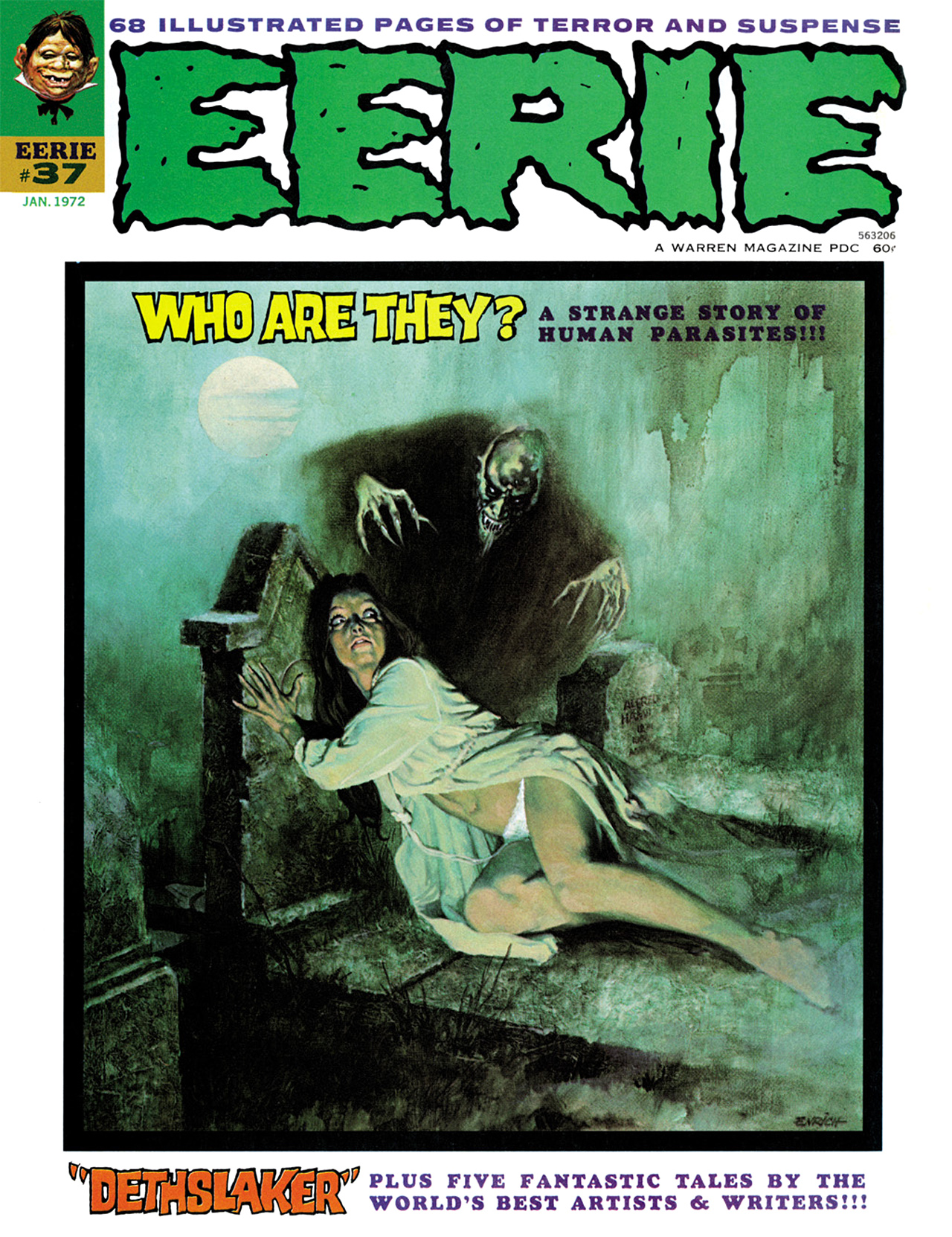 Read online Eerie Archives comic -  Issue # TPB 8 - 10
