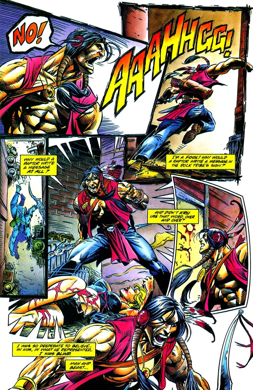 Read online Turok, Dinosaur Hunter (1993) comic -  Issue #29 - 21