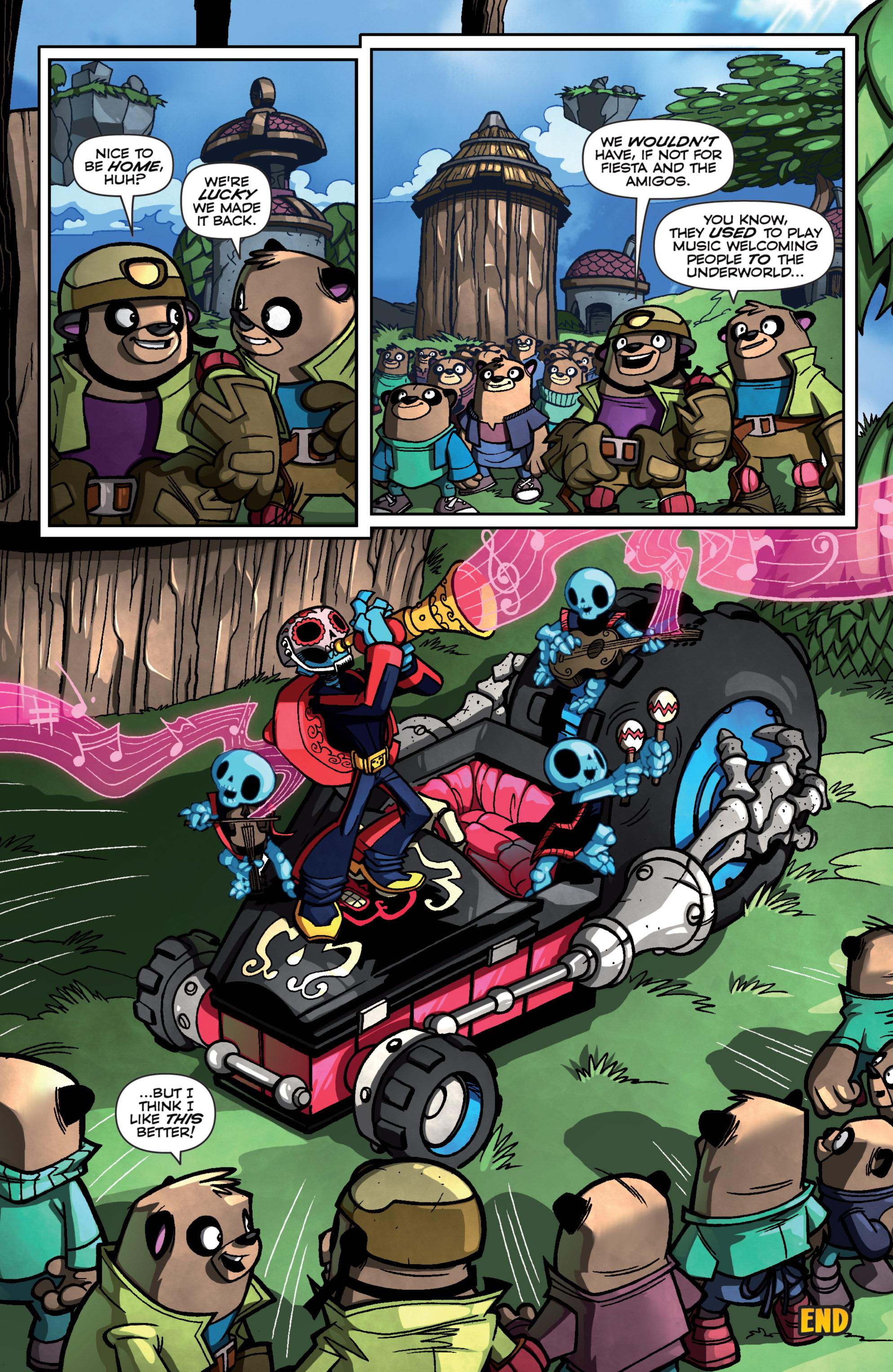 Read online Skylanders Superchargers comic -  Issue #4 - 19