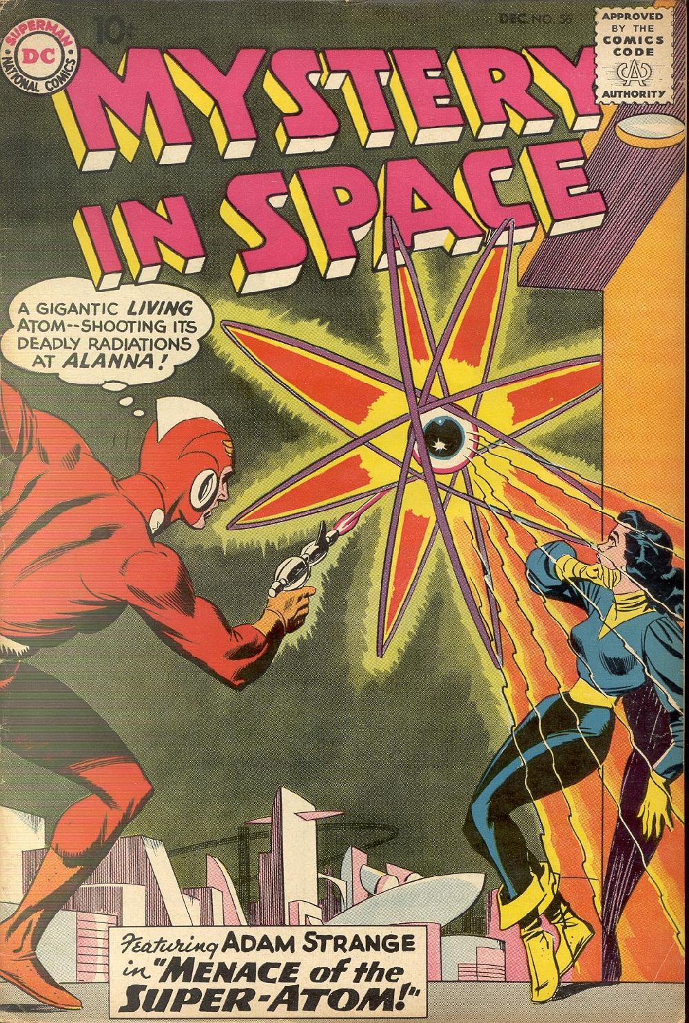 Mystery in Space (1951) issue 56 - Page 1