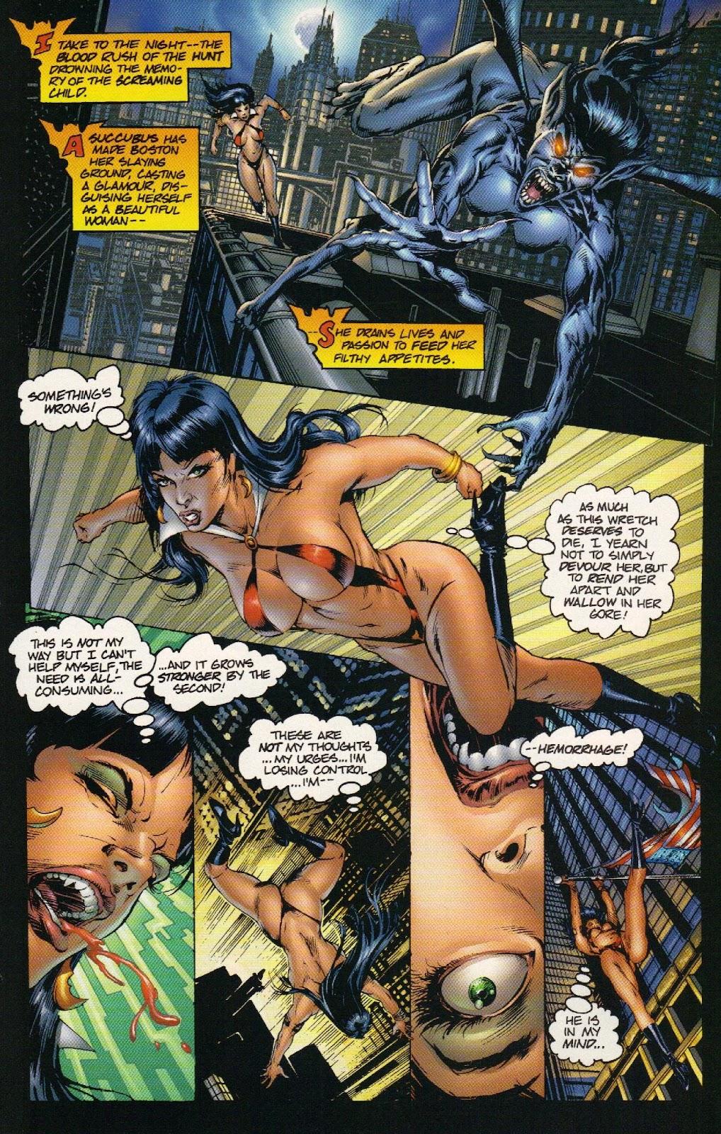 Vampirella vs Hemorrhage issue 1 - Page 16