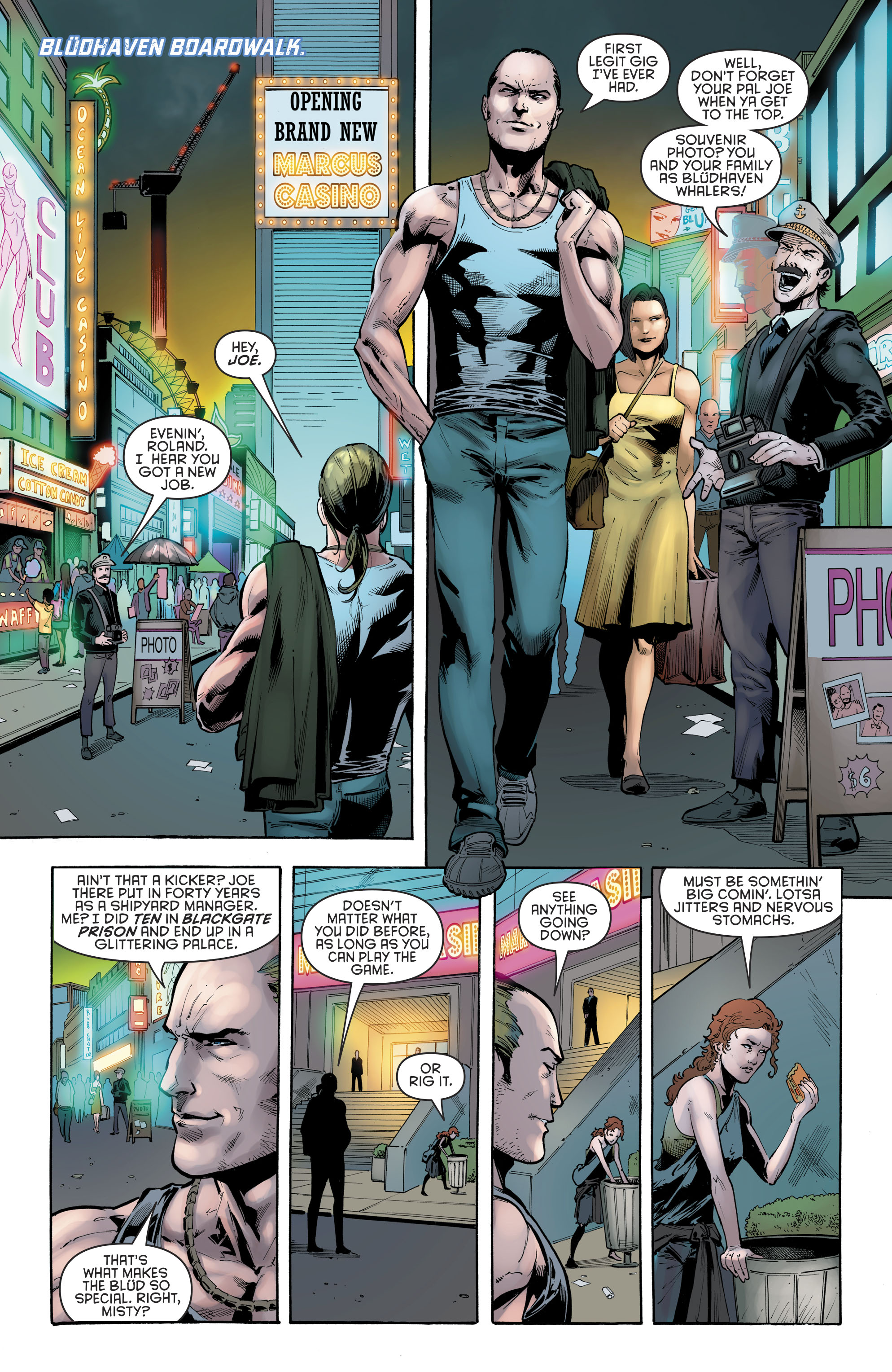 Read online Nightwing (2016) comic -  Issue #22 - 3