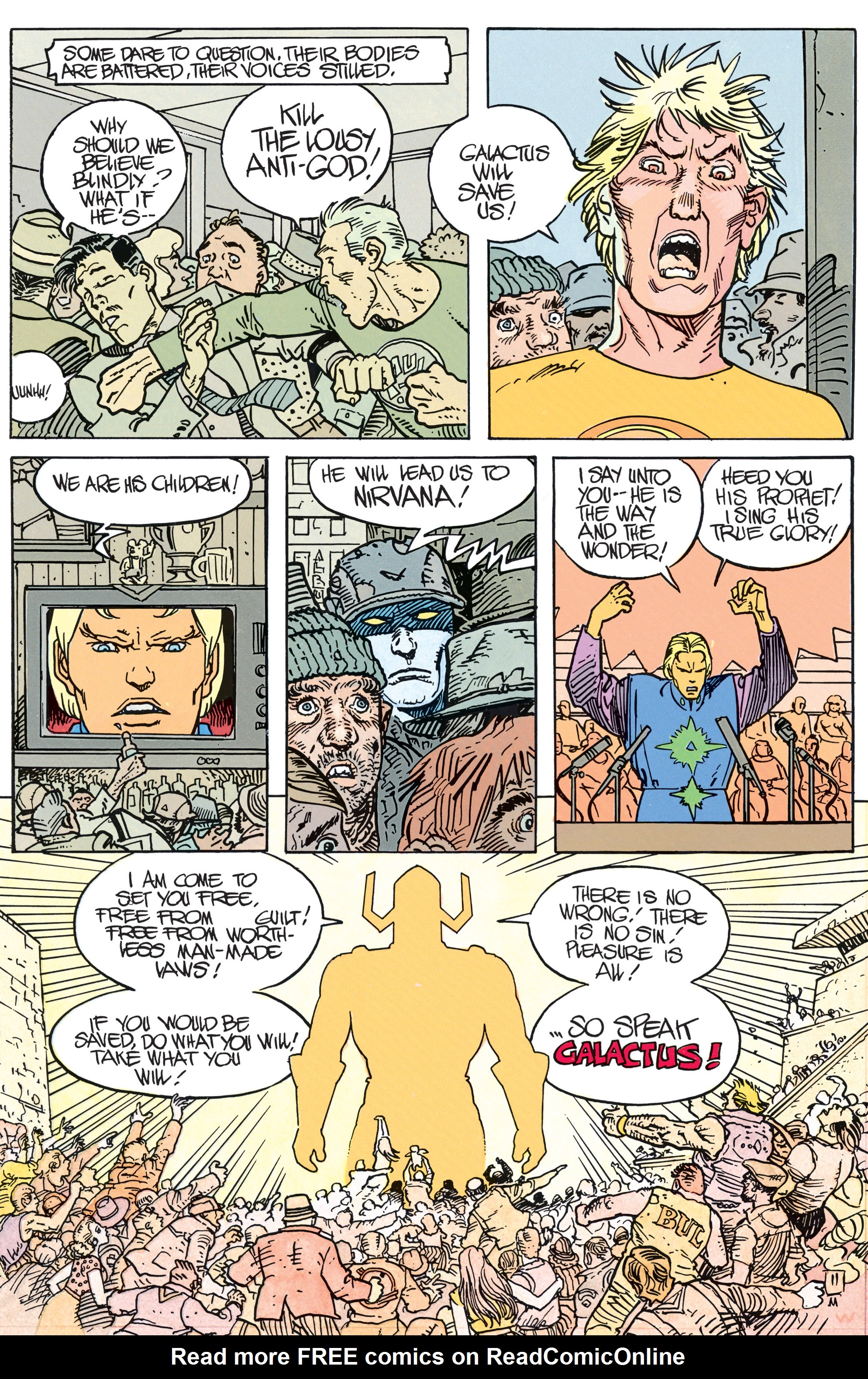 Read online Silver Surfer: Parable comic -  Issue # TPB - 16