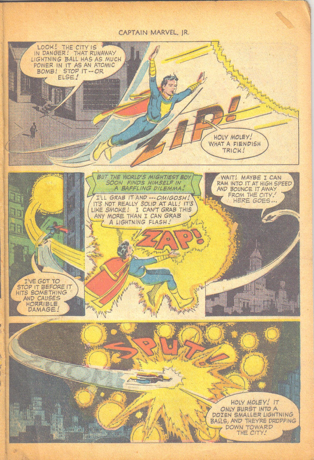 Captain Marvel, Jr. issue 95 - Page 8