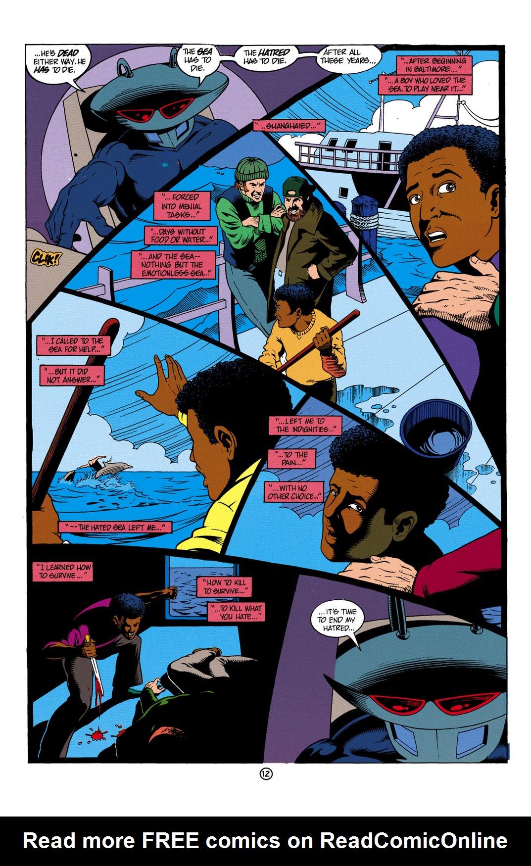 Read online Aquaman (1991) comic -  Issue #6 - 13