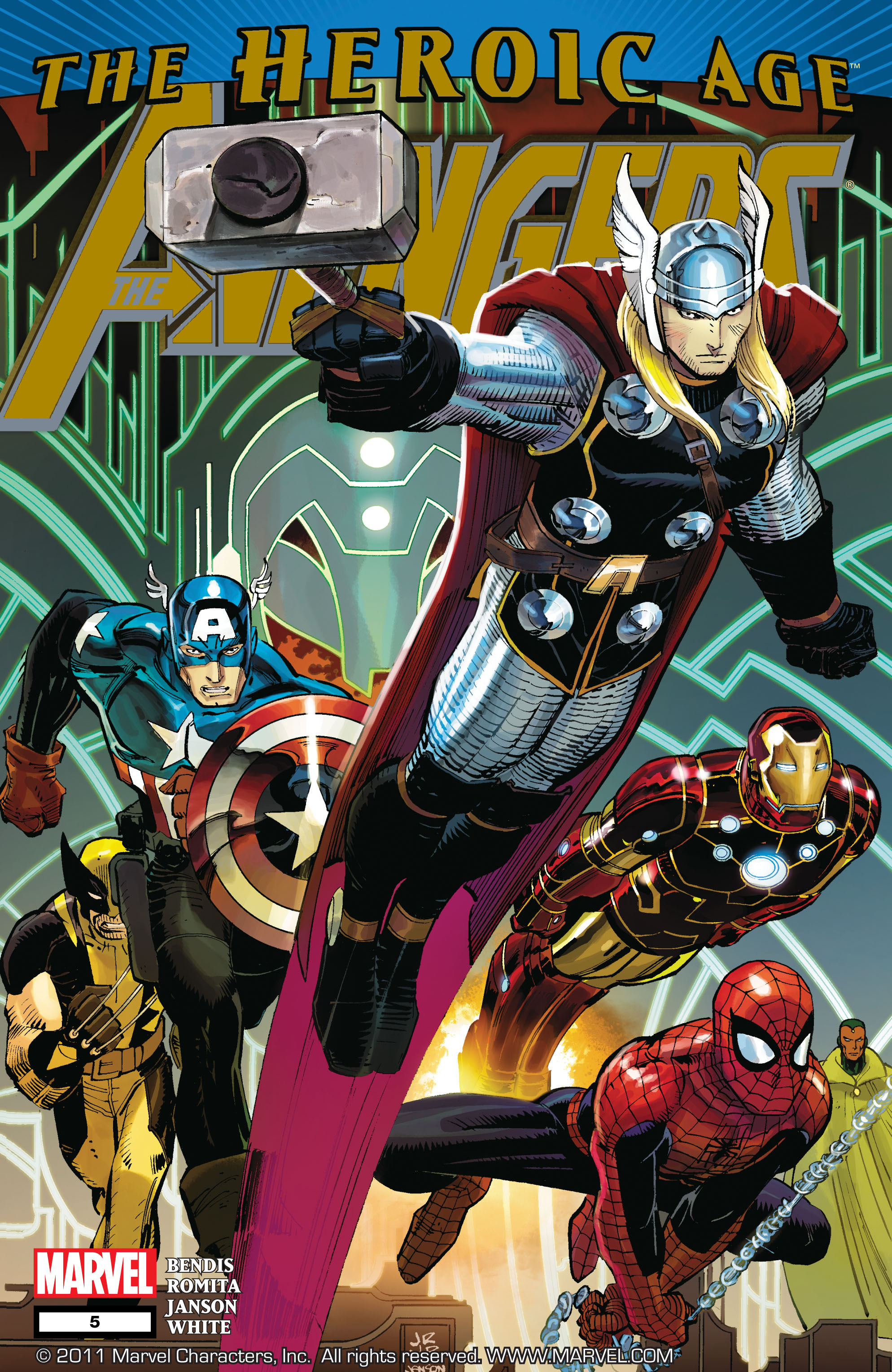 Read online Avengers (2010) comic -  Issue #5 - 1