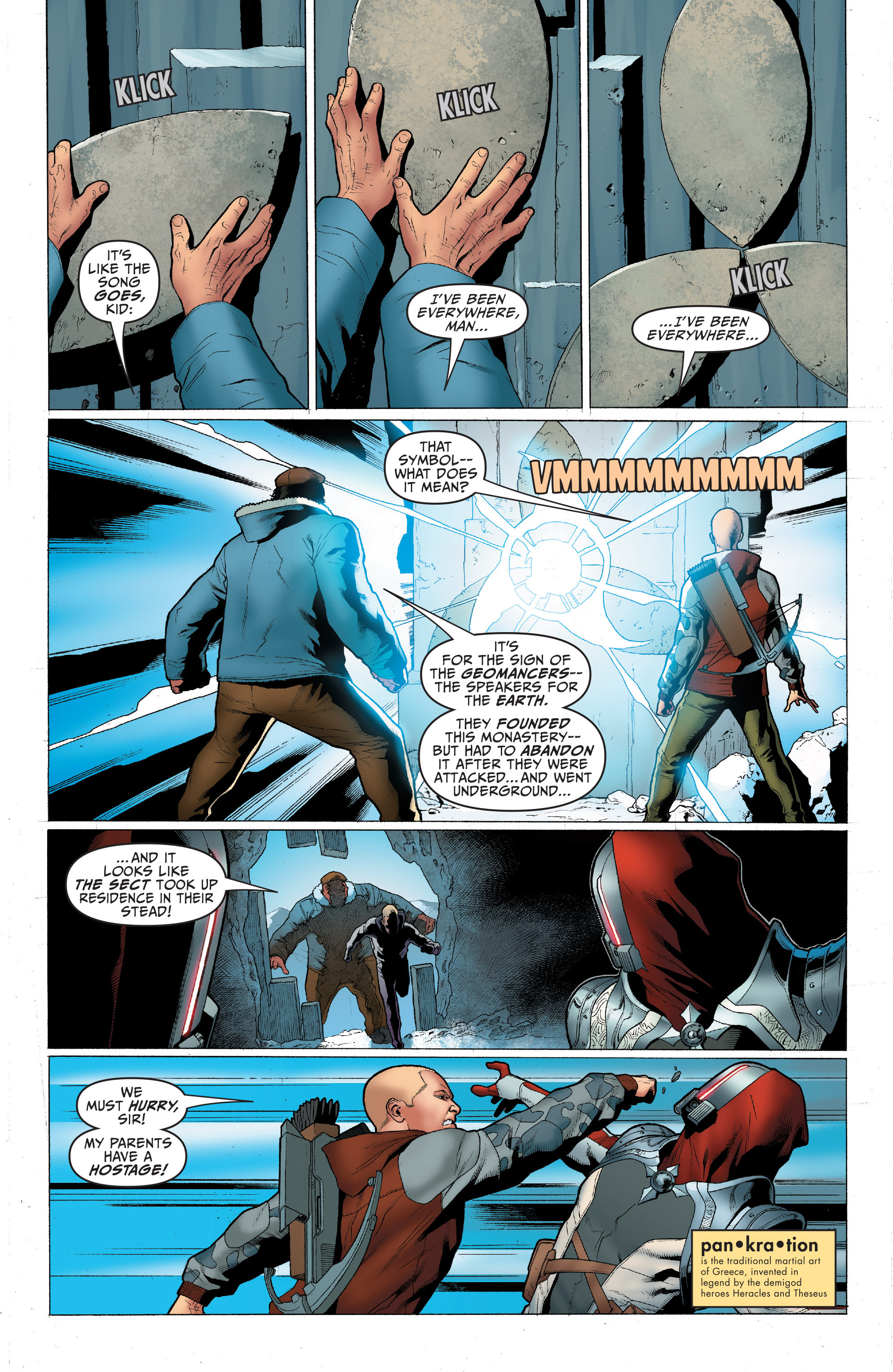 Read online Archer and Armstrong comic -  Issue #Archer and Armstrong _TPB 1 - 84