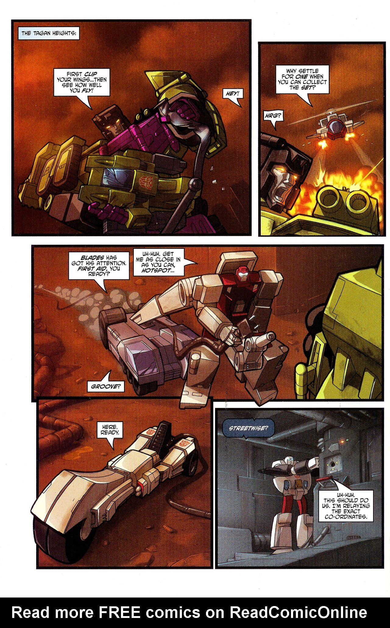 """Read online Transformers War Within: """"The Dark Ages"""" comic -  Issue #3 - 19"""