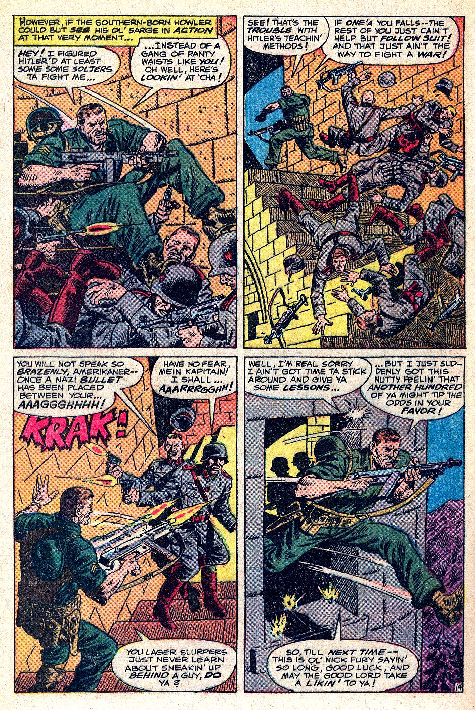 Read online Sgt. Fury comic -  Issue #53 - 20