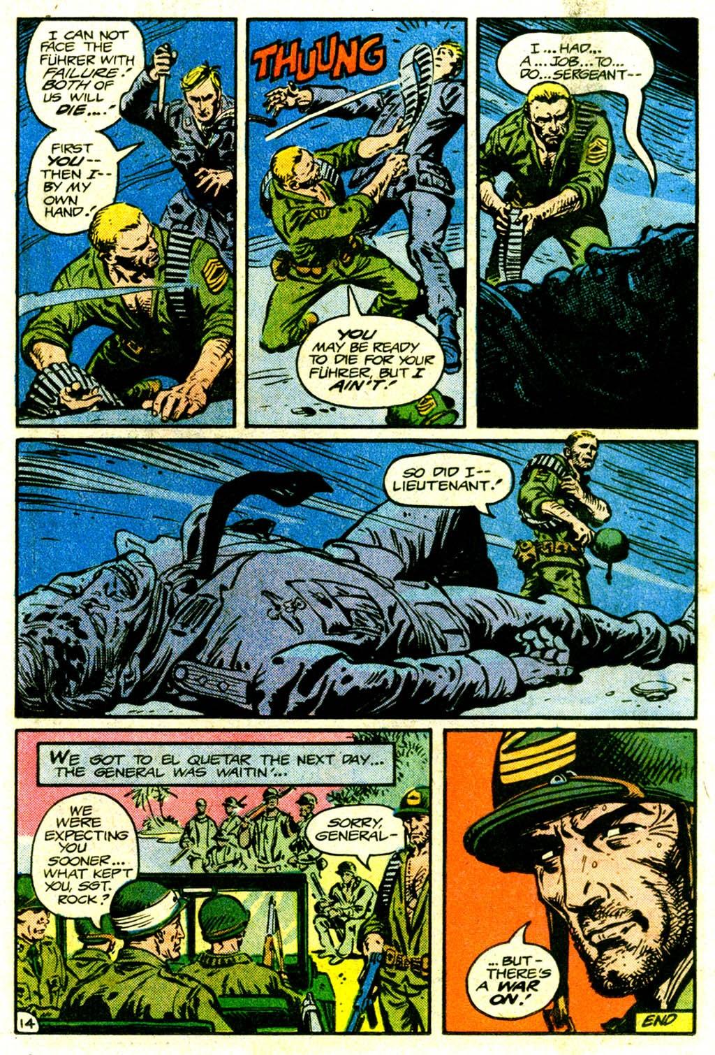 Read online Sgt. Rock comic -  Issue #370 - 19