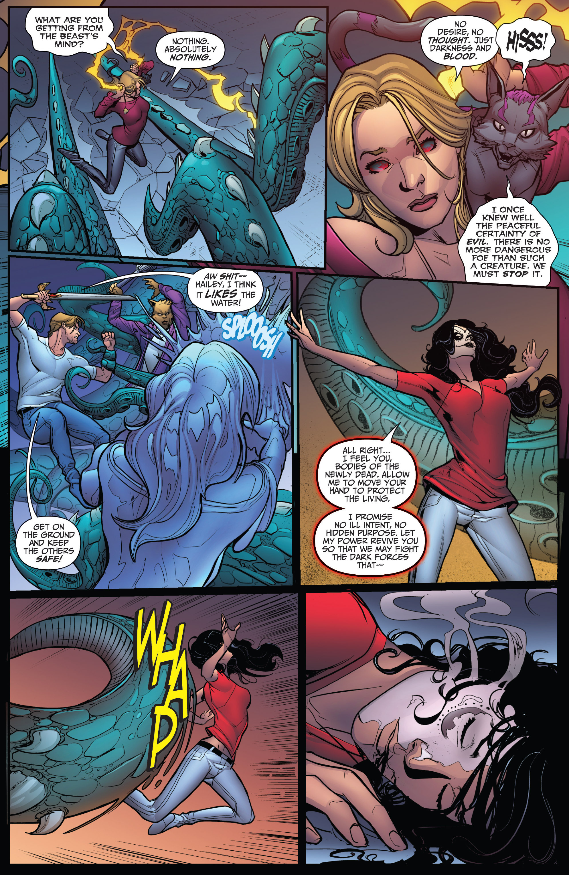 Read online Grimm Fairy Tales: Arcane Acre comic -  Issue # TPB 4 - 125