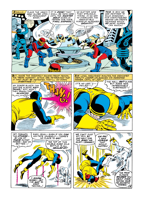 Read online Uncanny X-Men (1963) comic -  Issue #16 - 5