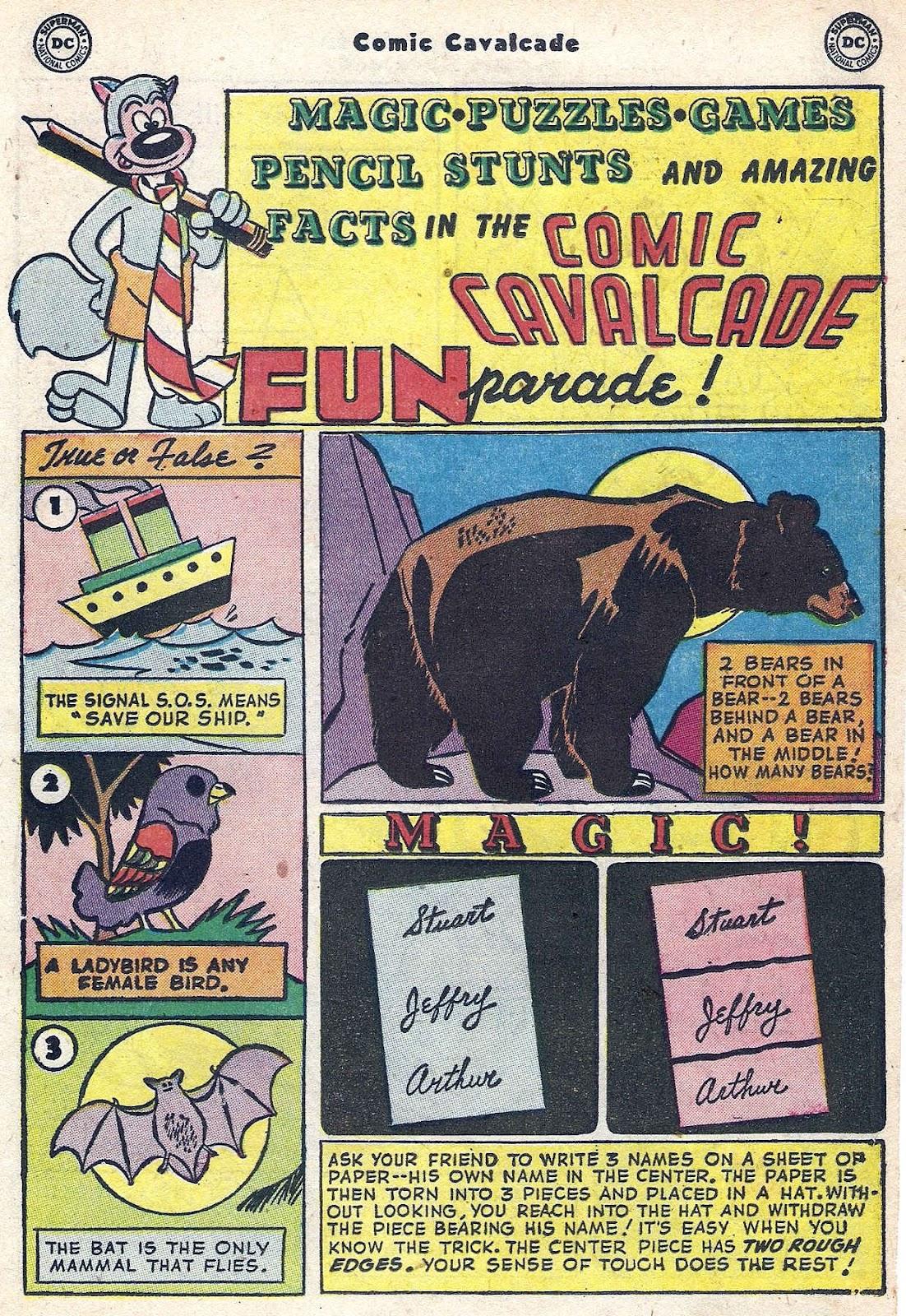 Comic Cavalcade issue 56 - Page 21