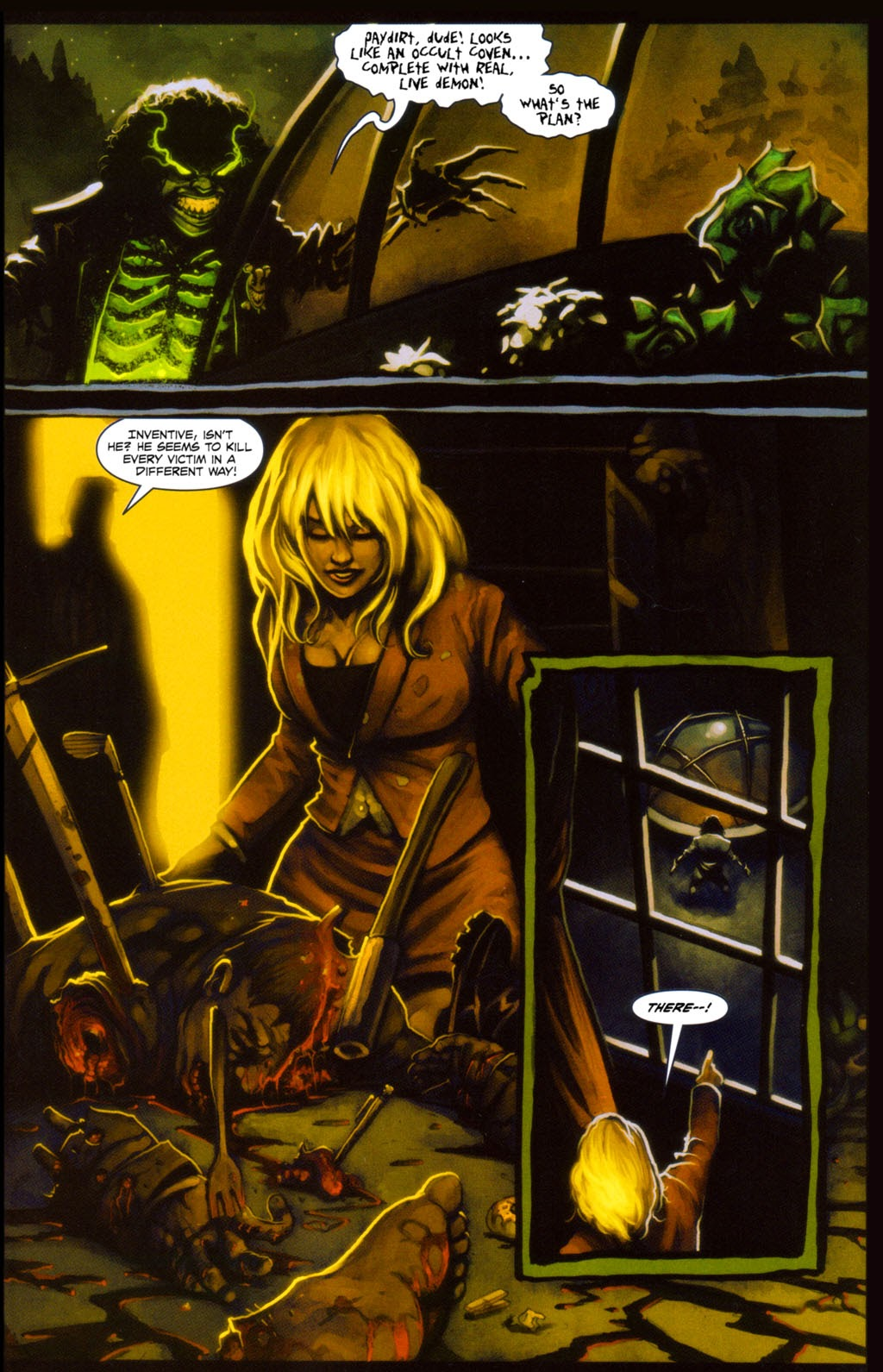Read online Evil Ernie in Santa Fe comic -  Issue #4 - 10