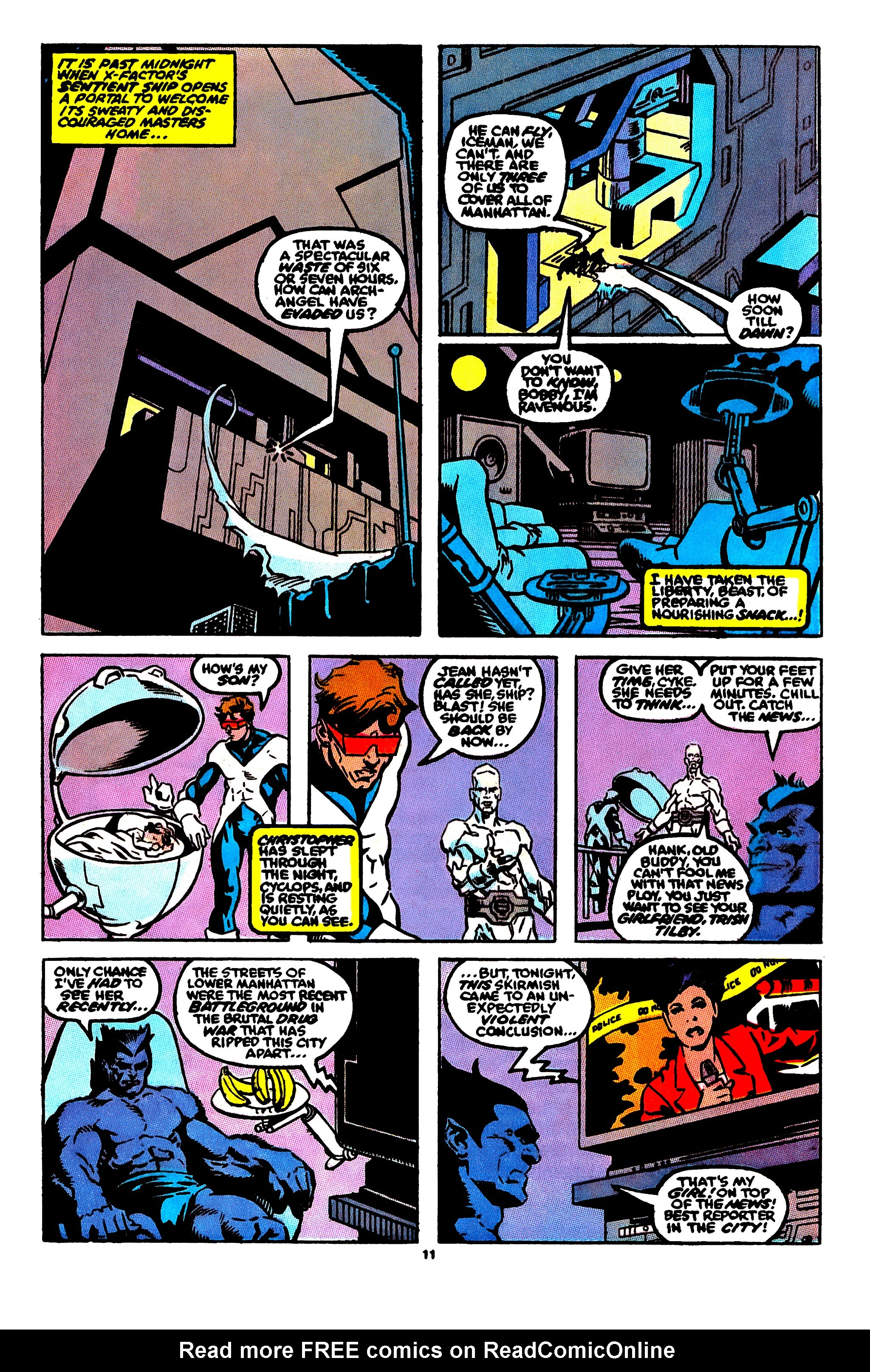 Read online X-Factor (1986) comic -  Issue #56 - 9