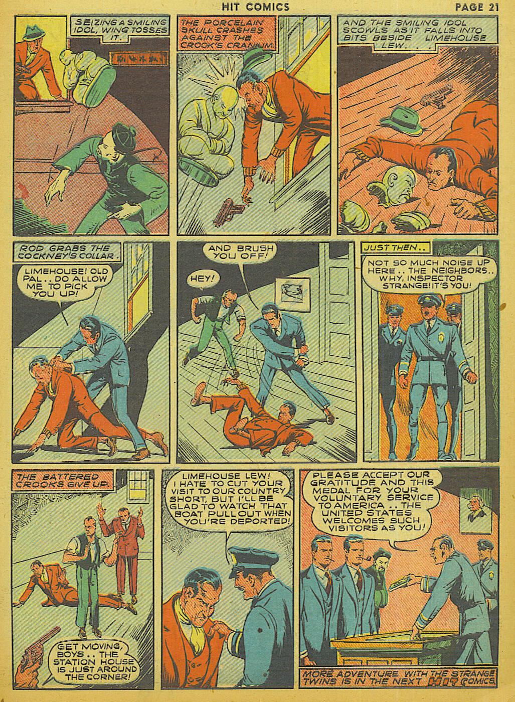 Read online Hit Comics comic -  Issue #13 - 23