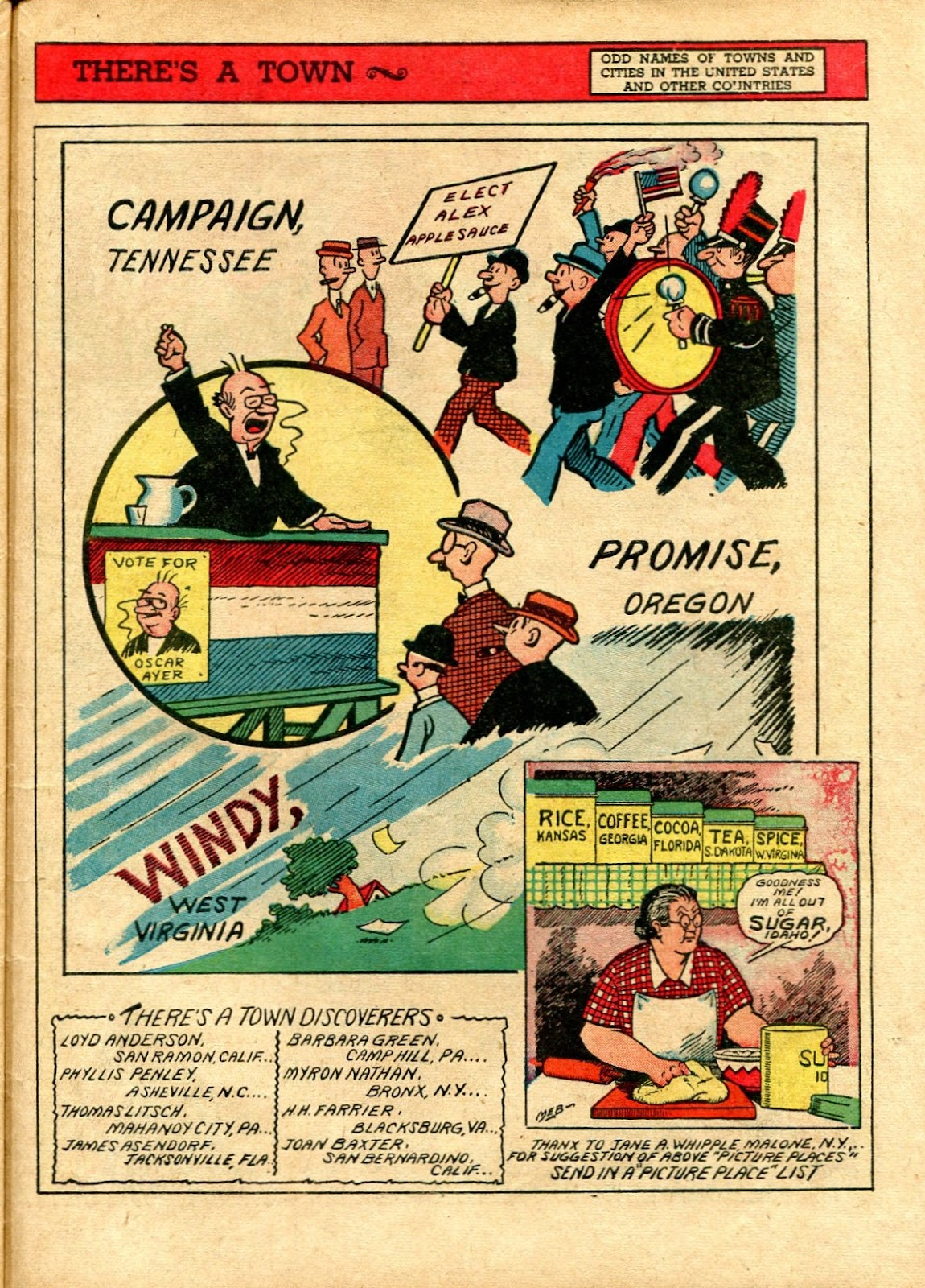 Read online Famous Funnies comic -  Issue #72 - 59
