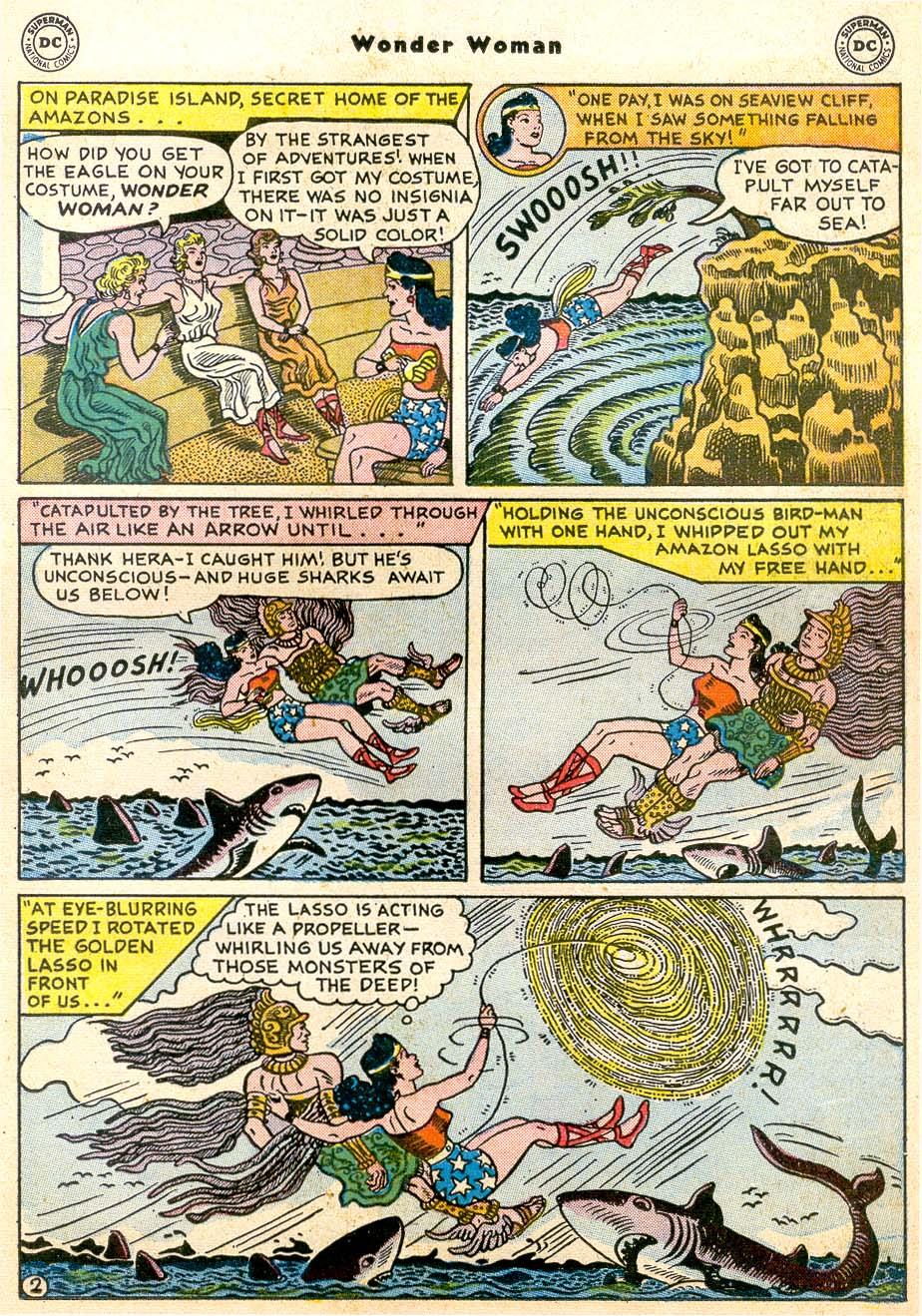 Read online Wonder Woman (1942) comic -  Issue #91 - 17