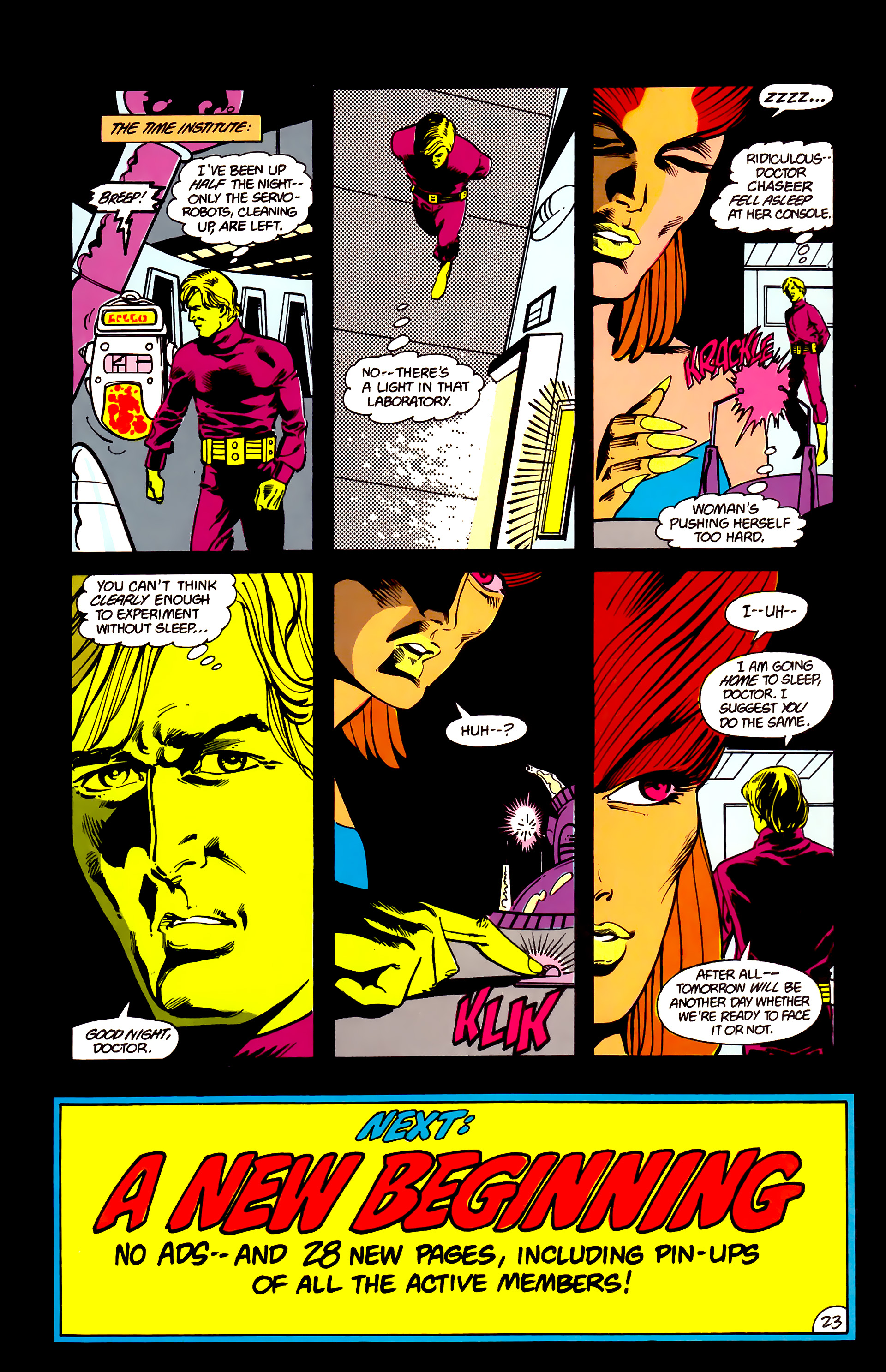 Legion of Super-Heroes (1984) 16 Page 24