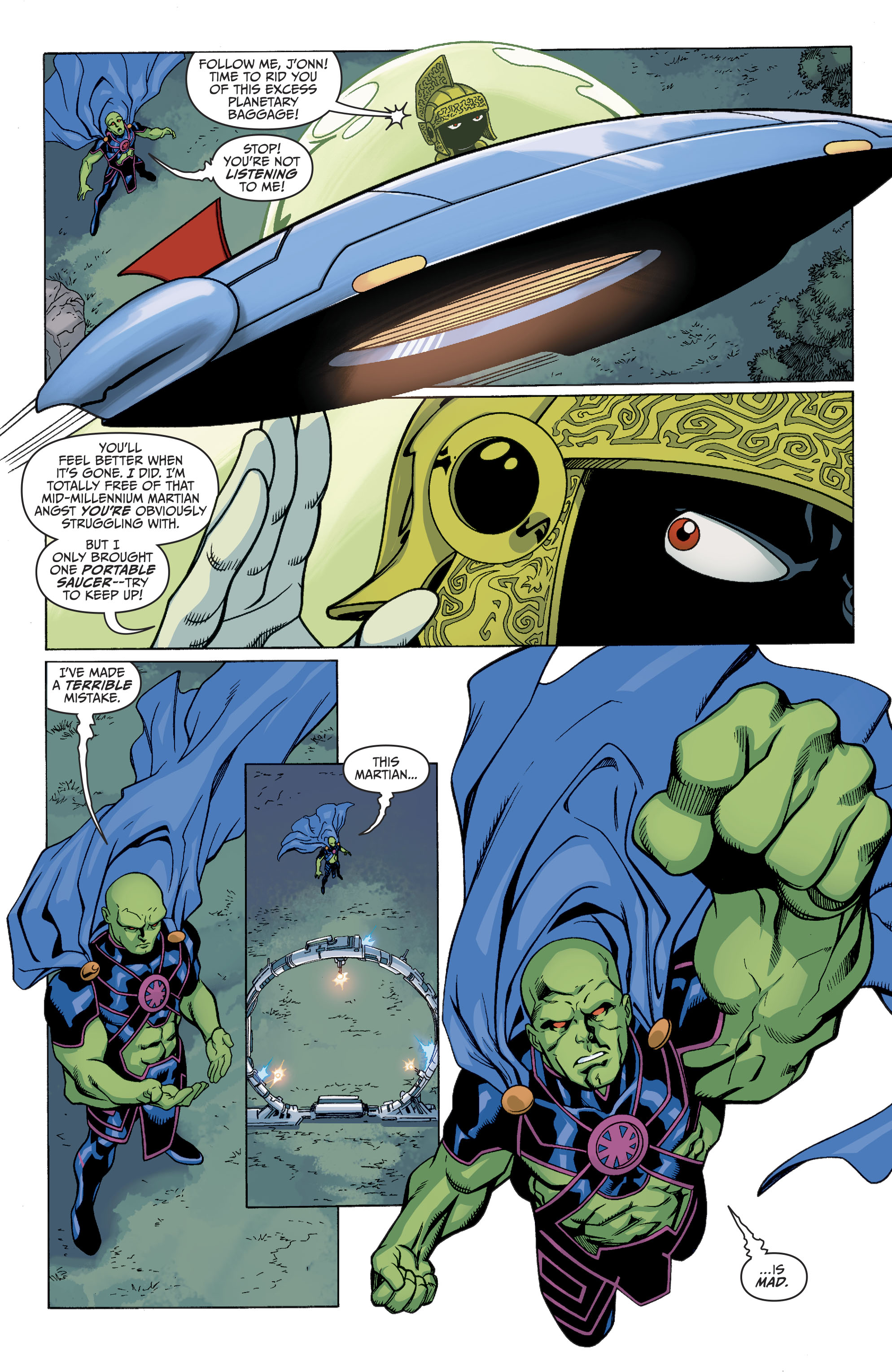 Read online Martian Manhunter/Marvin the Martian Special comic -  Issue # Full - 11
