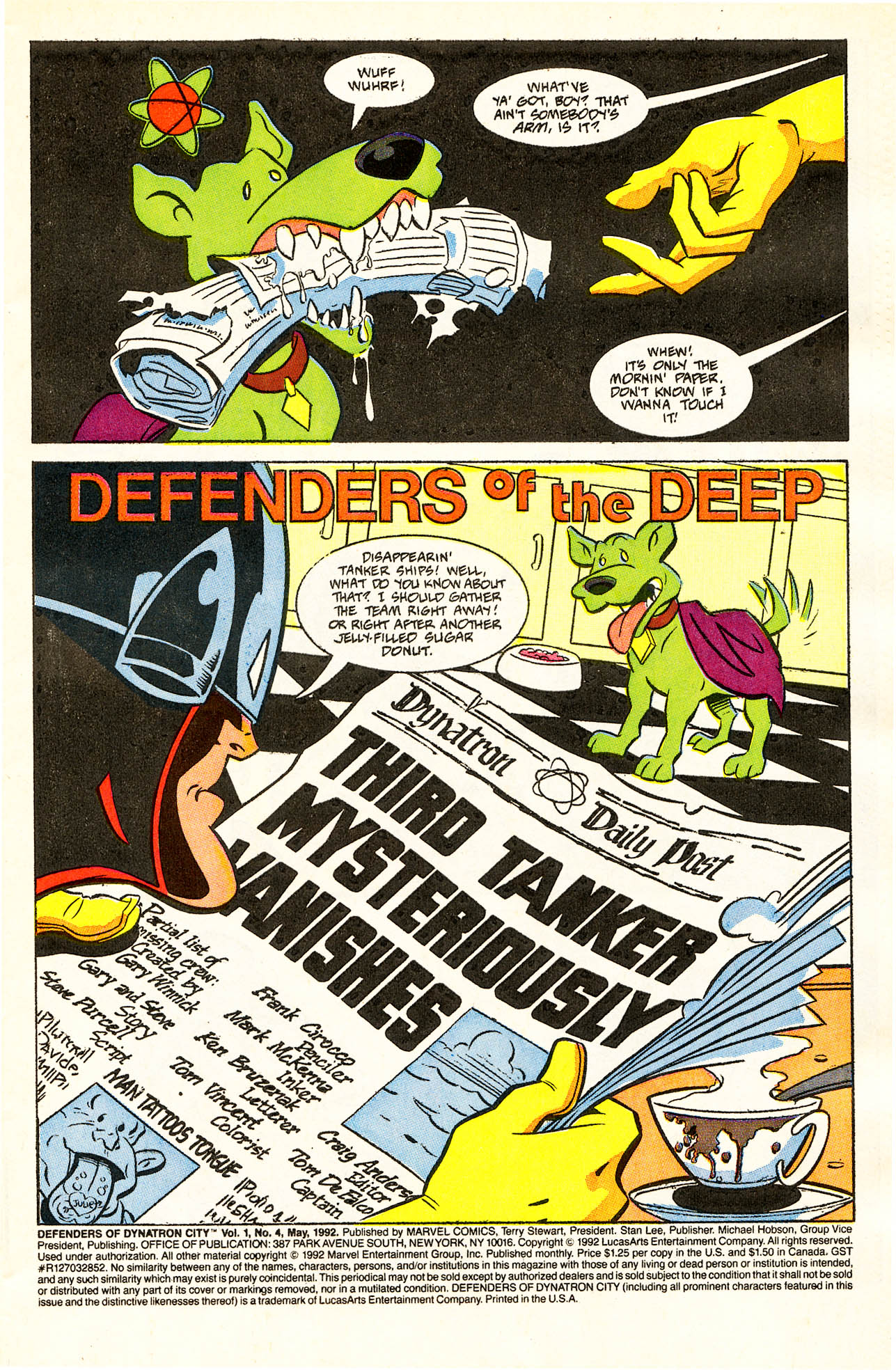 Read online Defenders of Dynatron City comic -  Issue #4 - 3
