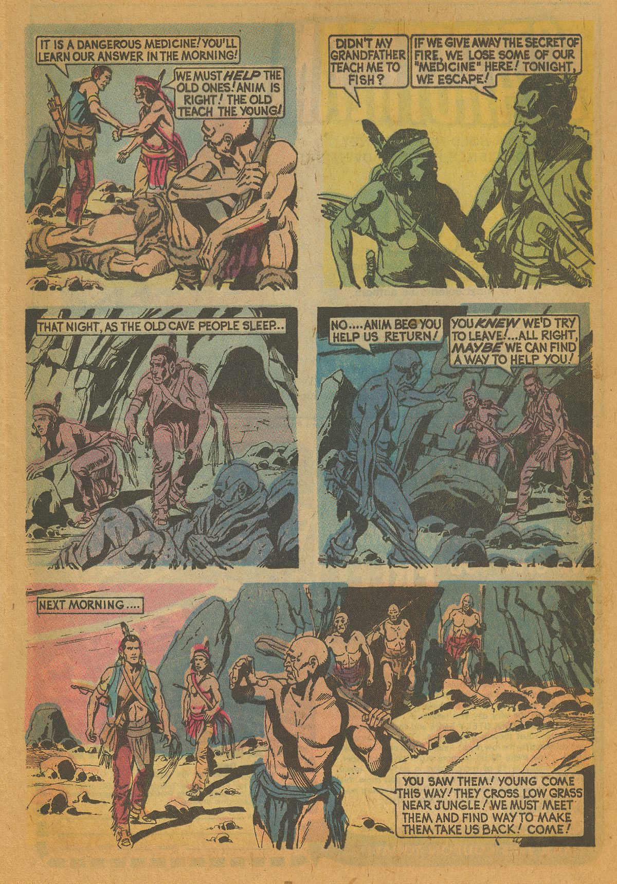 Read online Turok, Son of Stone comic -  Issue #112 - 13