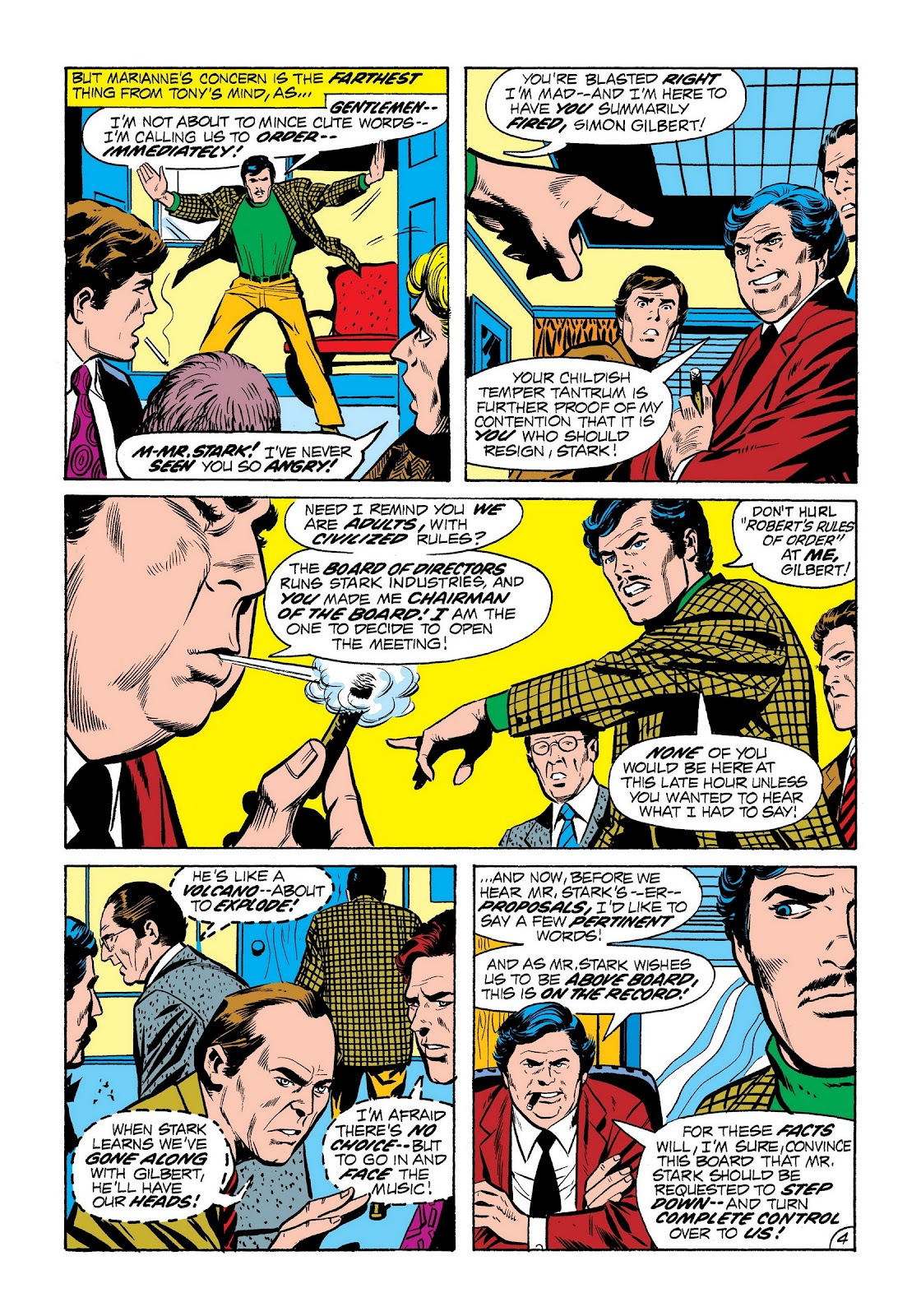 Read online Marvel Masterworks: The Invincible Iron Man comic -  Issue # TPB 8 (Part 2) - 92