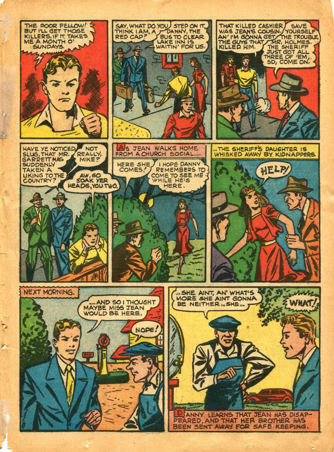 Read online Shadow Comics comic -  Issue #12 - 43