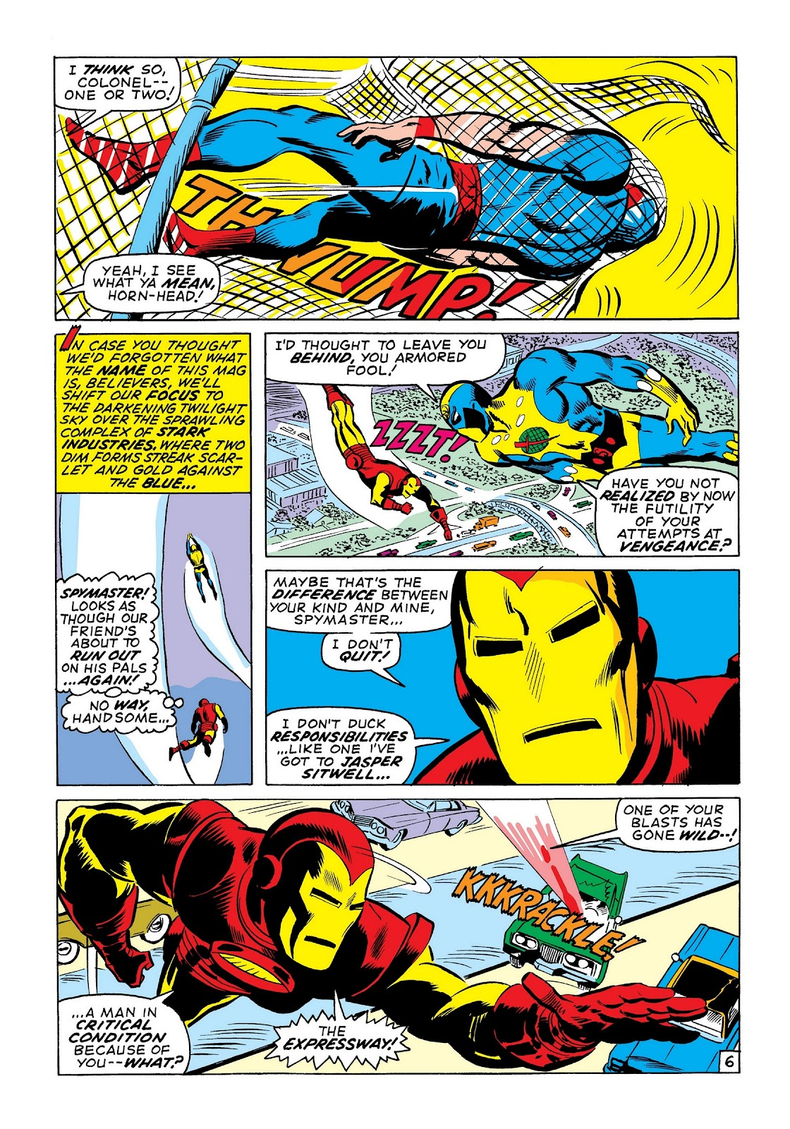 Read online Marvel Masterworks: The Invincible Iron Man comic -  Issue # TPB 7 (Part 3) - 35