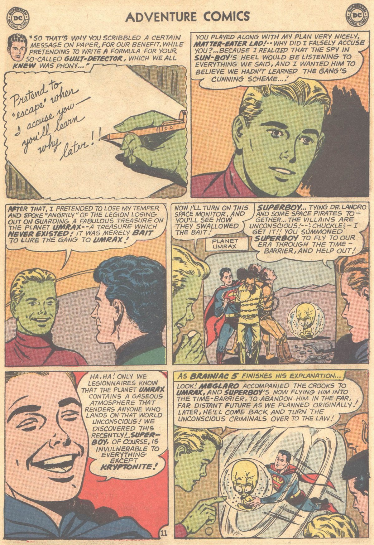 Read online Adventure Comics (1938) comic -  Issue #303 - 31