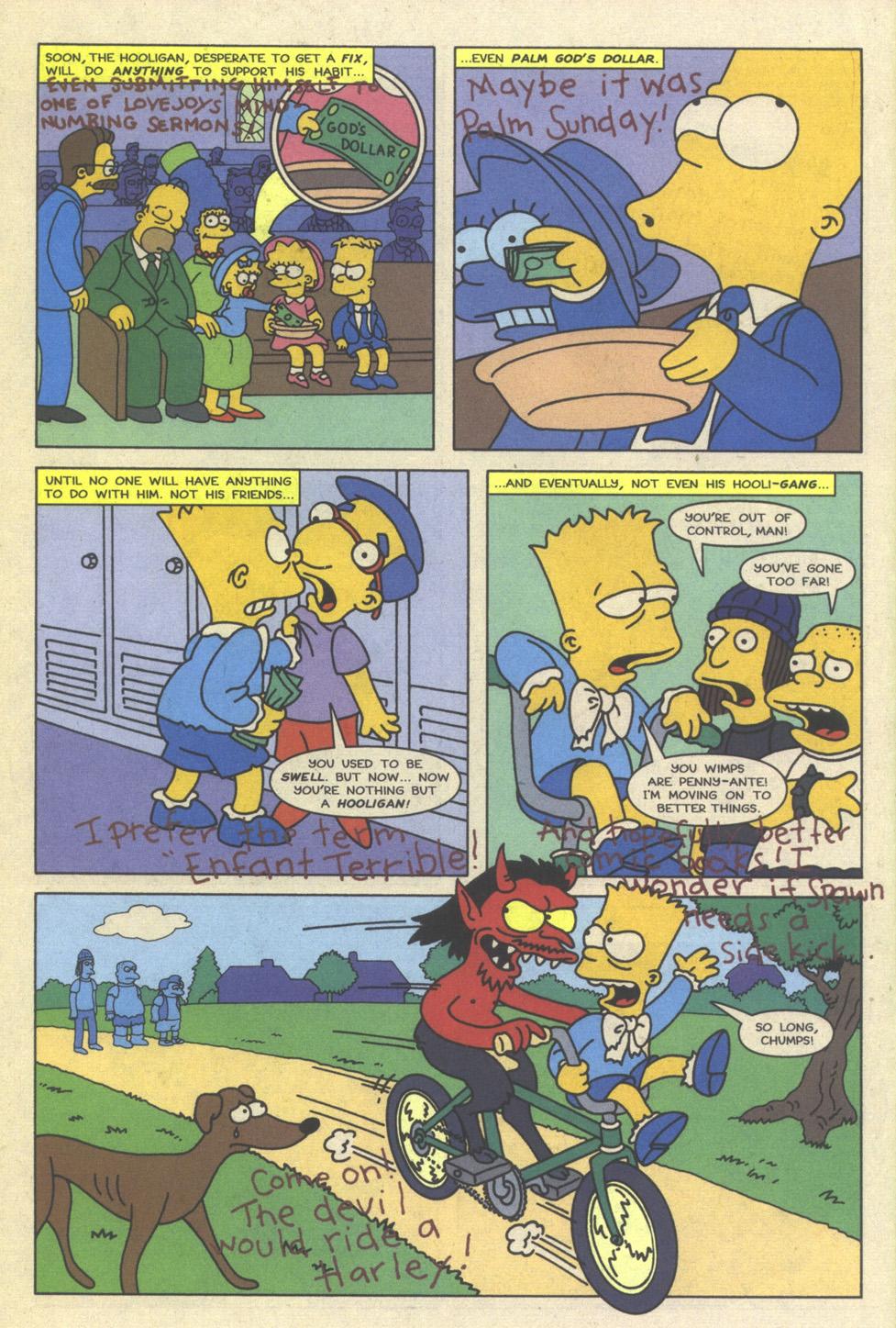 Read online Simpsons Comics comic -  Issue #23 - 30
