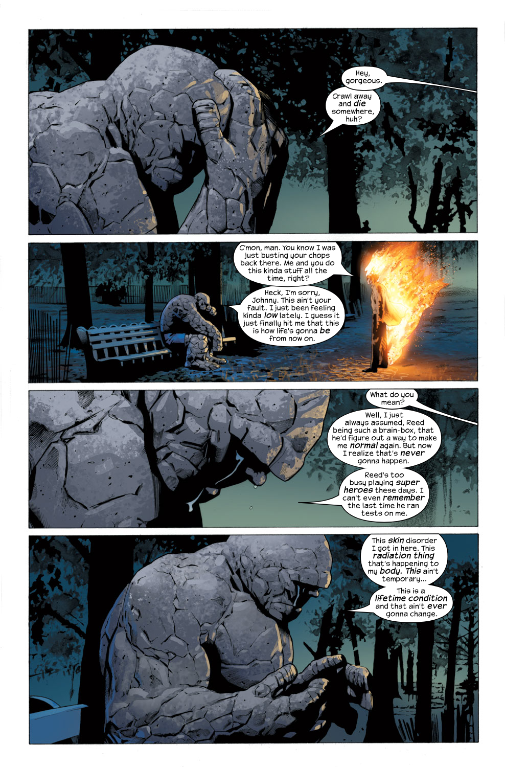 Read online Ultimate Fantastic Four (2004) comic -  Issue #27 - 17