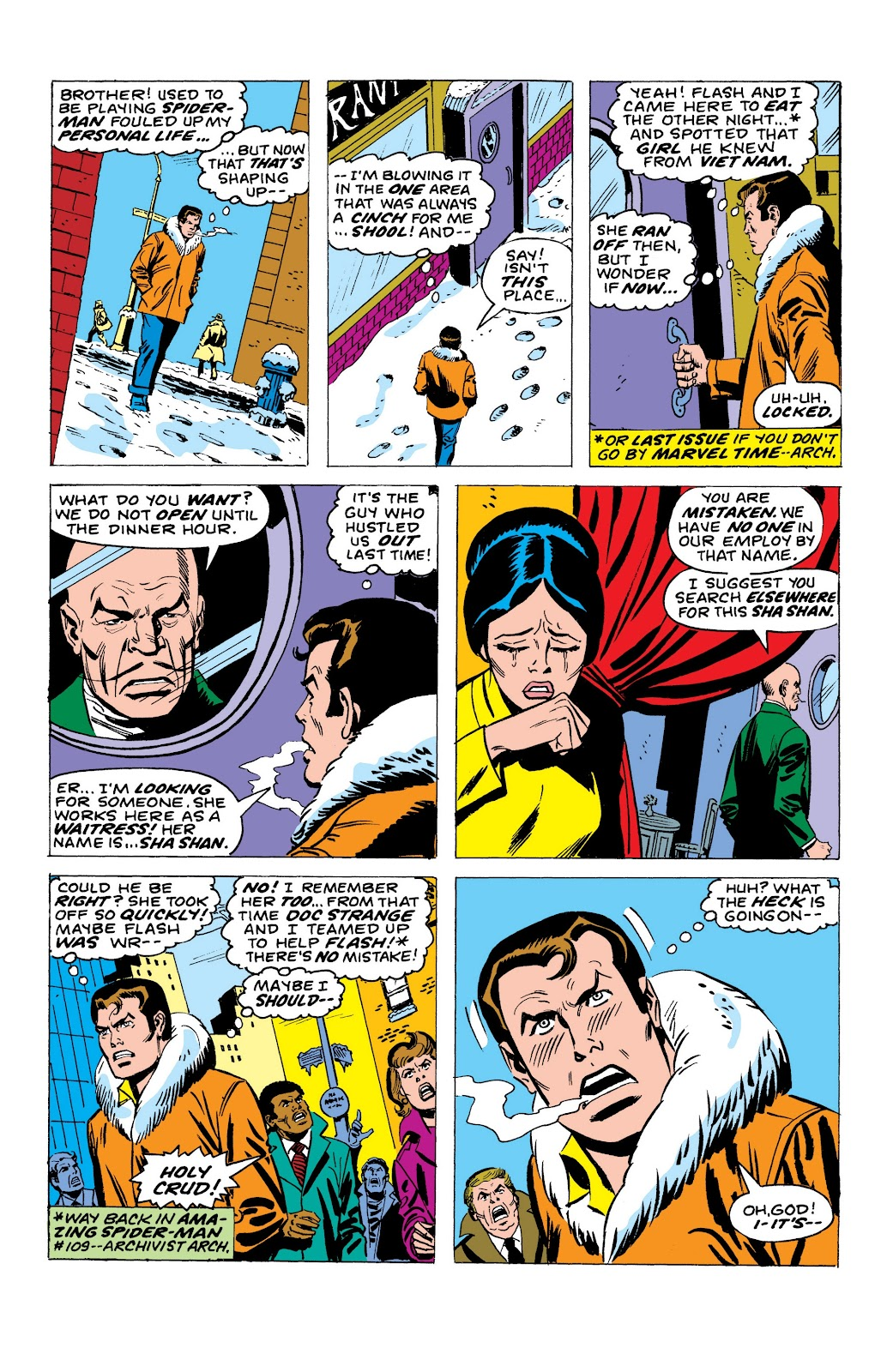Read online Marvel Masterworks: The Spectacular Spider-Man comic -  Issue # TPB (Part 1) - 70