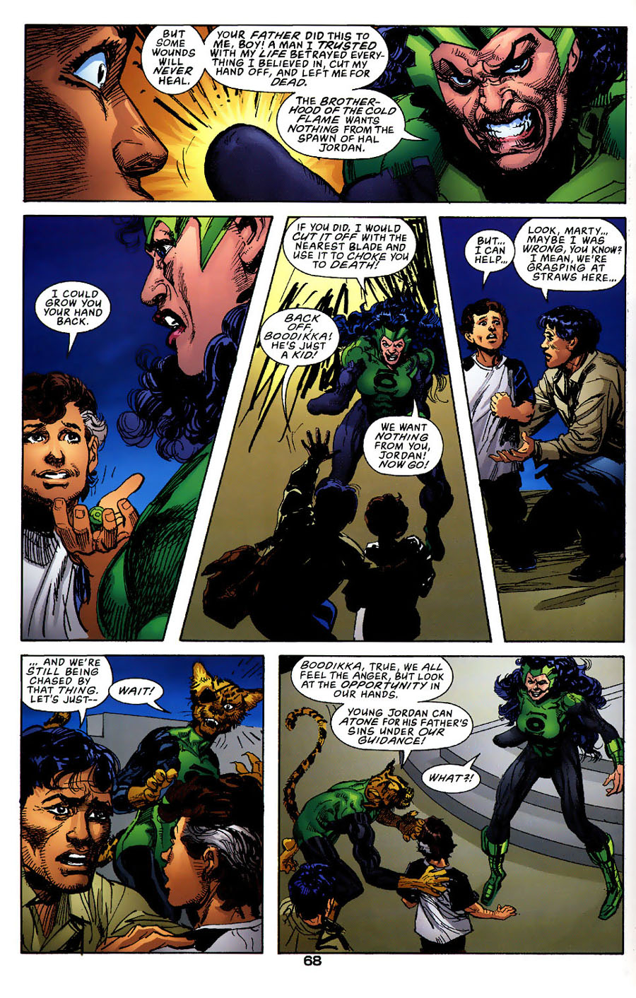 Read online Green Lantern: Legacy: The Last Will and Testament of Hal Jordan comic -  Issue # TPB - 74