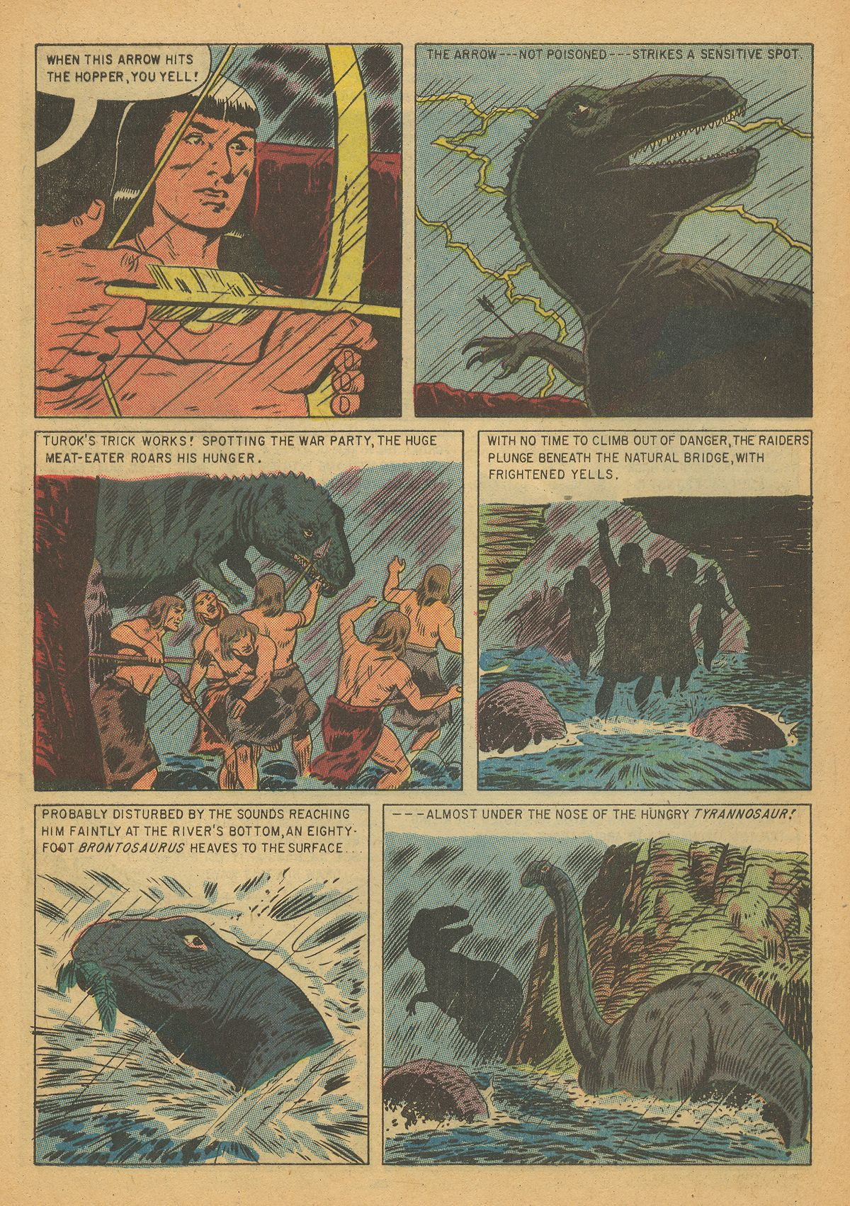 Read online Turok, Son of Stone comic -  Issue #7 - 32