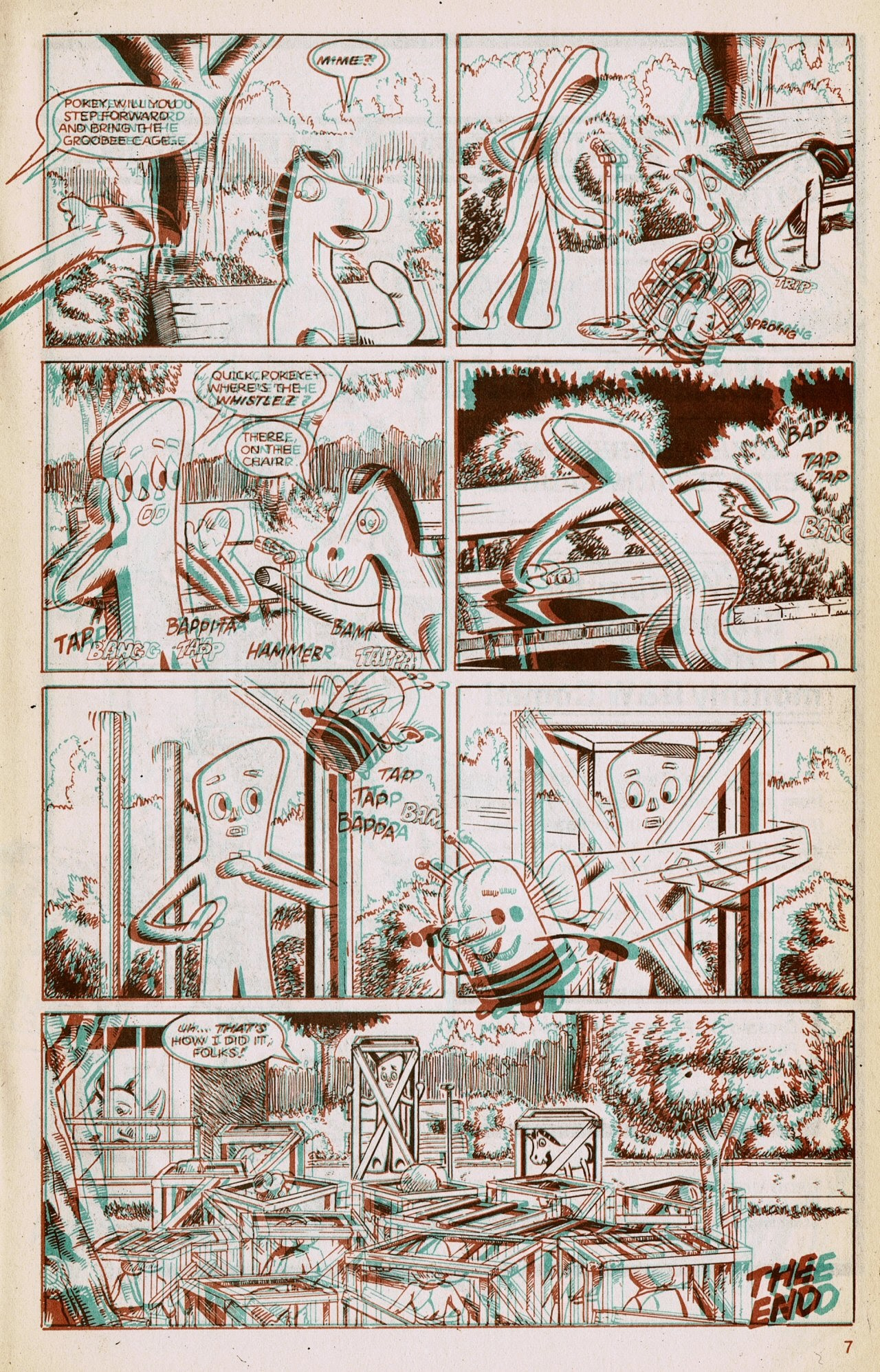 Gumby 3-D issue 1 - Page 9