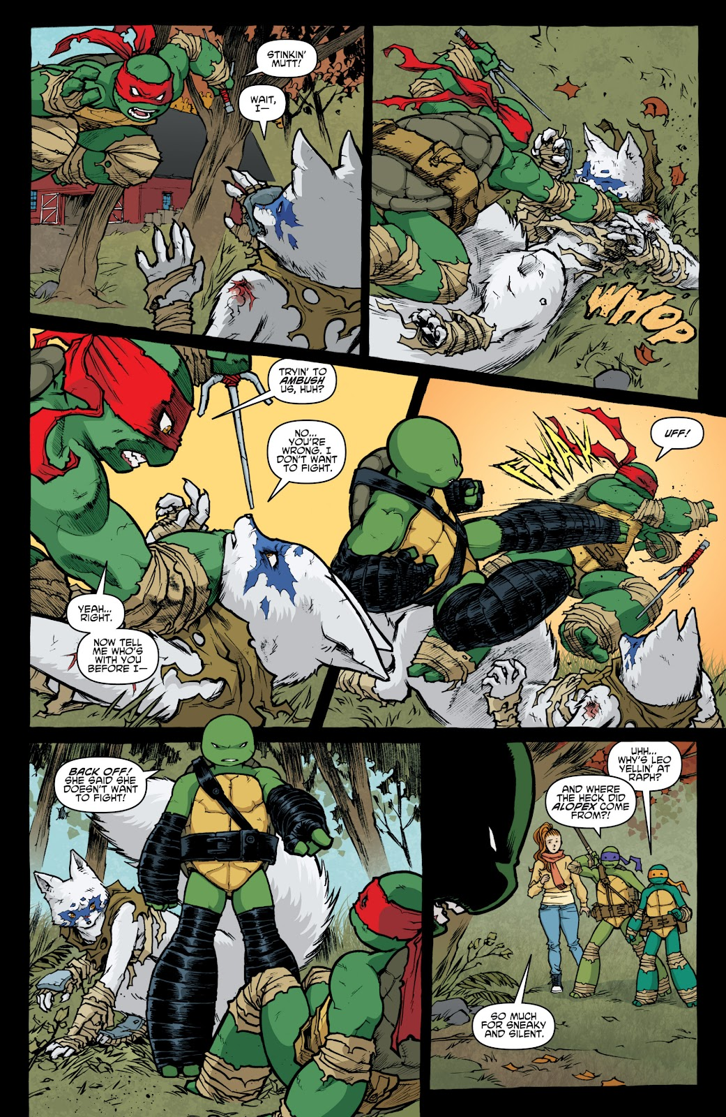 Read online Teenage Mutant Ninja Turtles: The IDW Collection comic -  Issue # TPB 4 (Part 1) - 15