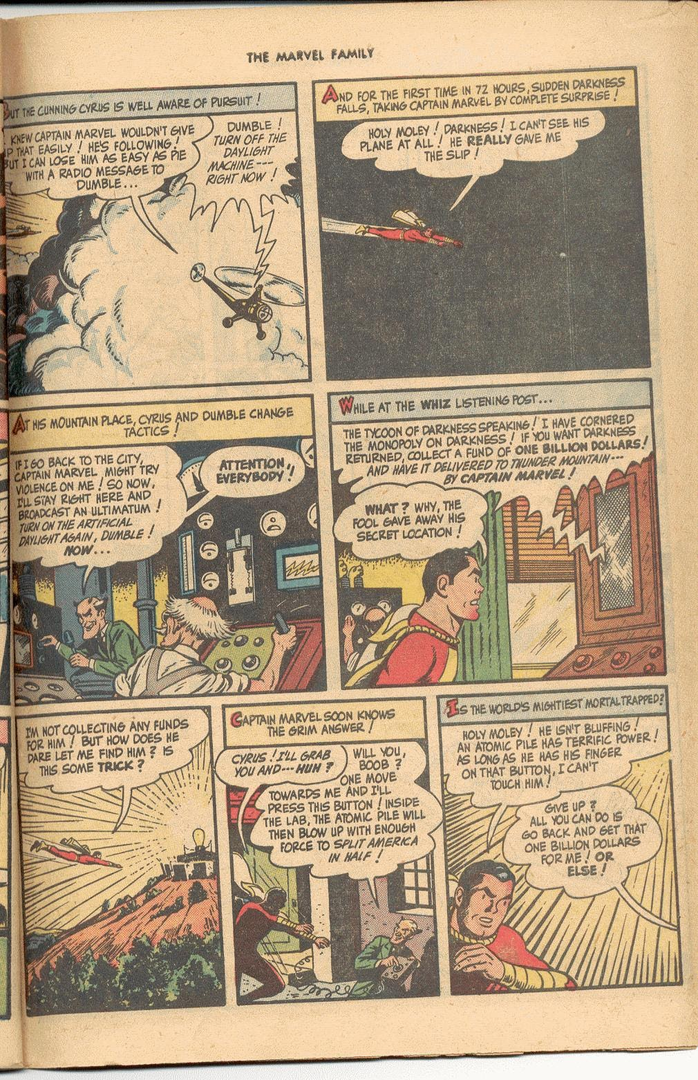 The Marvel Family issue 38 - Page 47