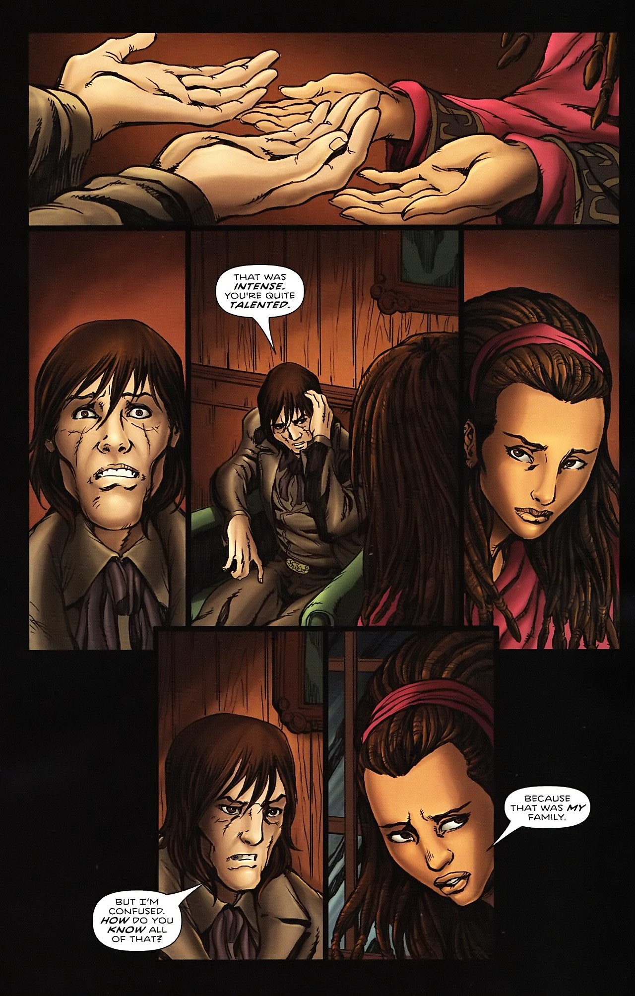 Read online Salem's Daughter: The Haunting comic -  Issue #4 - 21