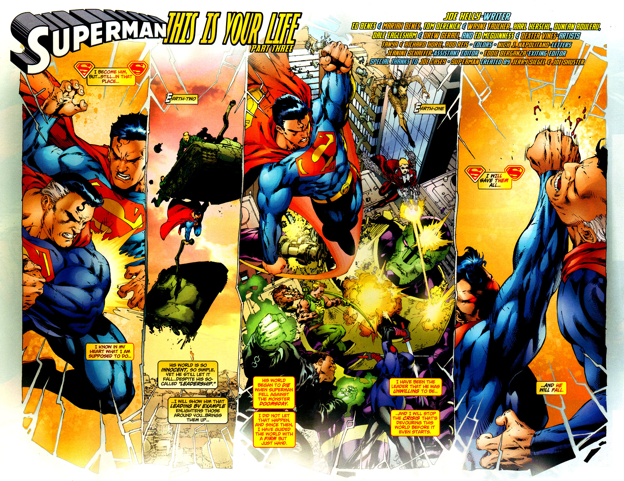 Read online Adventures of Superman (1987) comic -  Issue #649 - 3