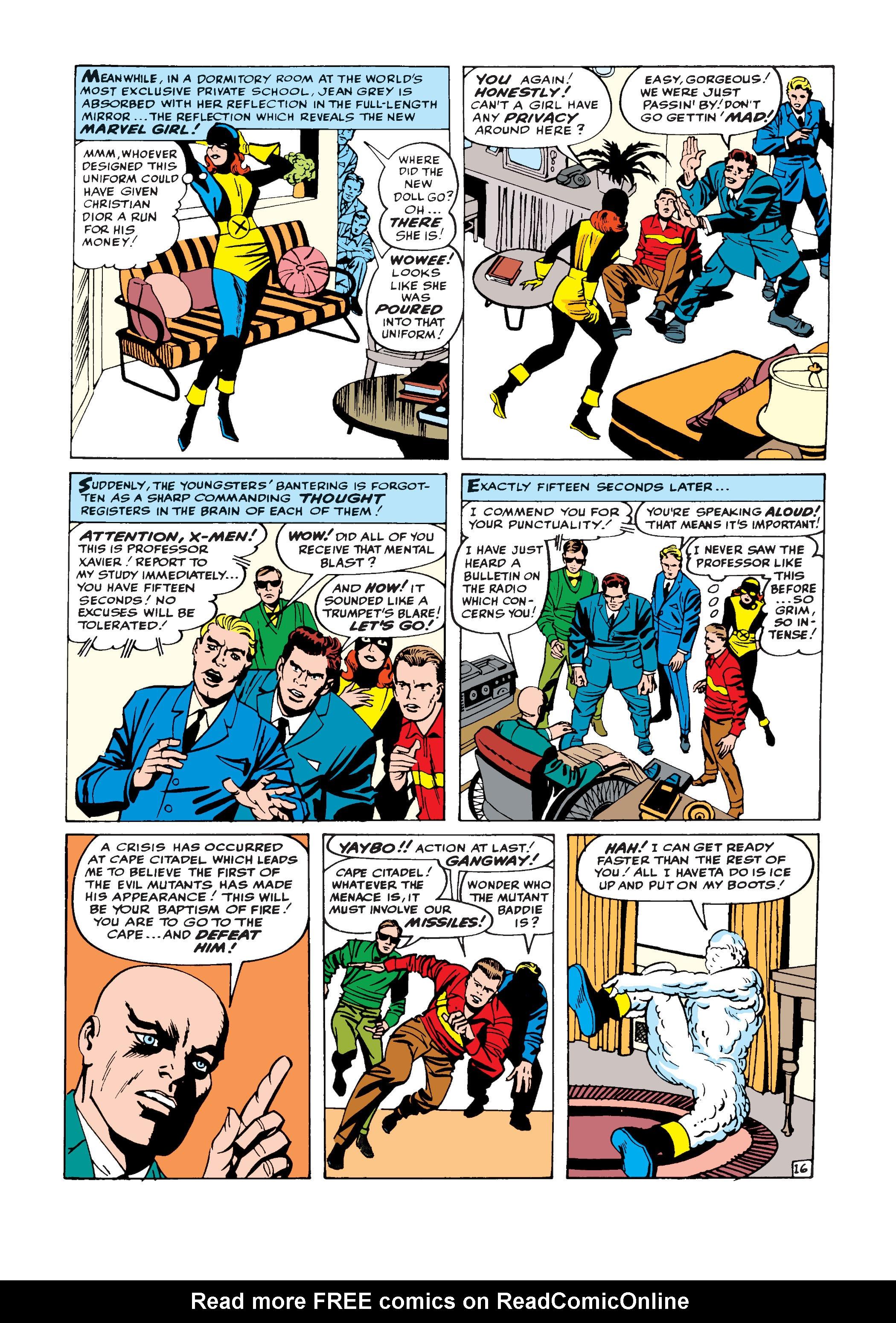 Uncanny X-Men (1963) -1 Page 16