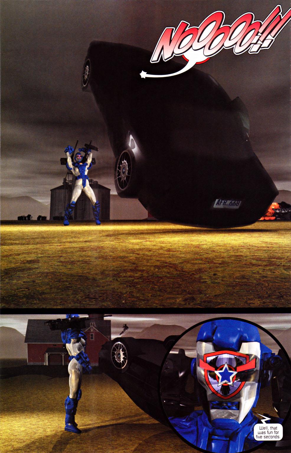 Read online U.S. War Machine 2.0 comic -  Issue #1 - 22