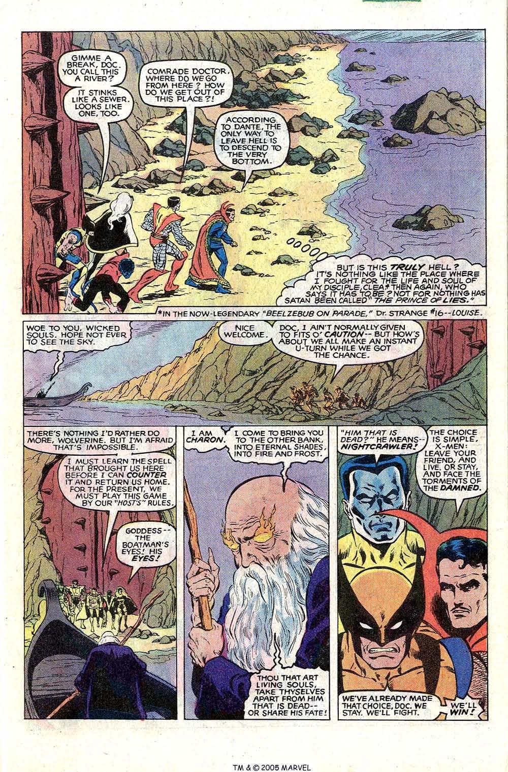 Read online Uncanny X-Men (1963) comic -  Issue # _Annual 4 - 19