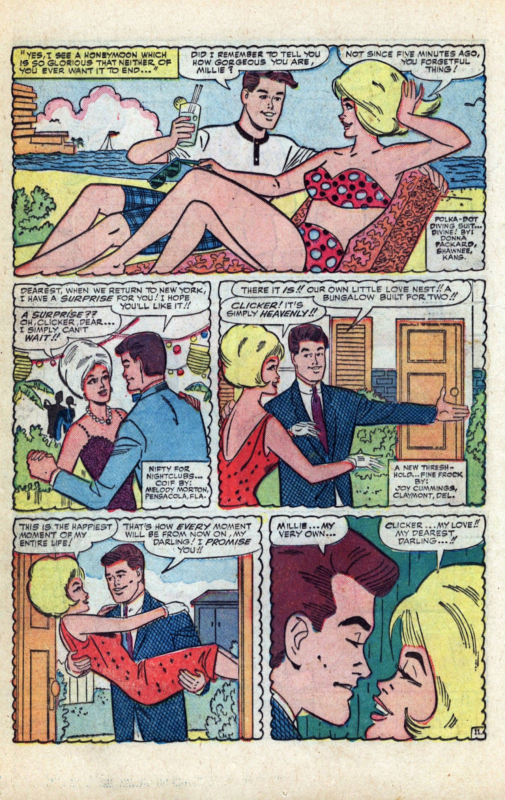 Read online Millie the Model comic -  Issue # Annual 3 - 52