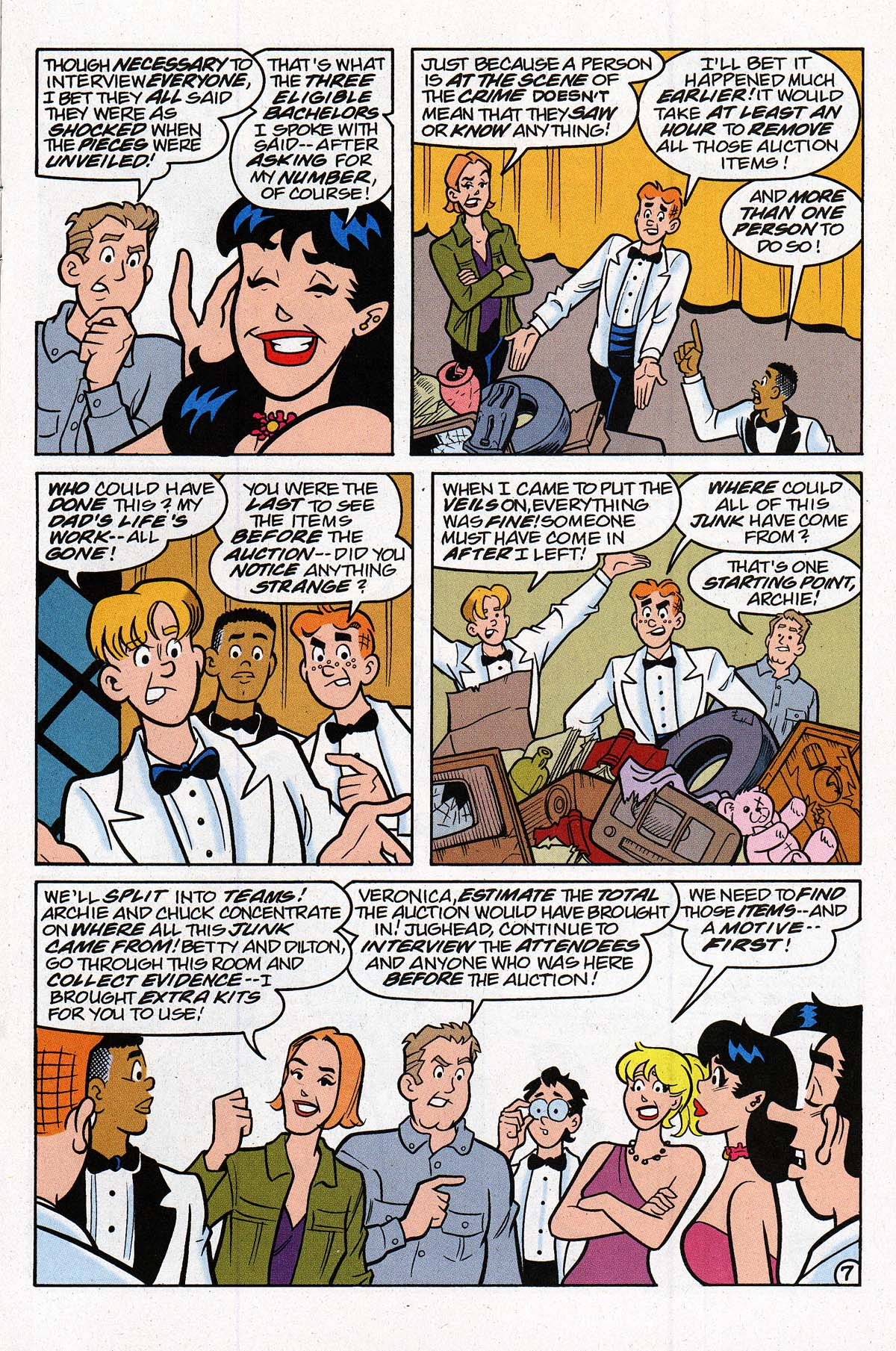 Read online Archie's Weird Mysteries comic -  Issue #27 - 10