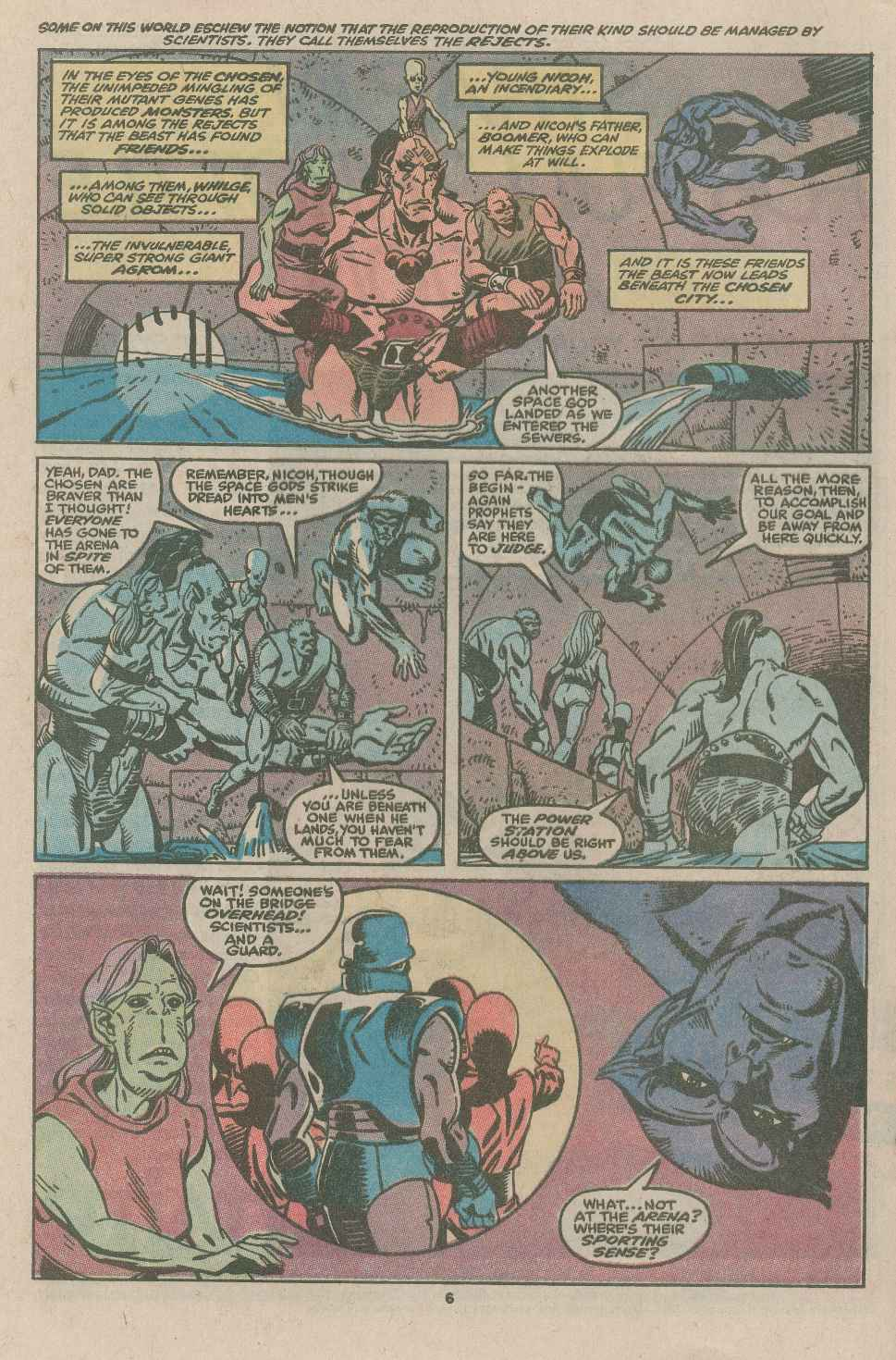 Read online X-Factor (1986) comic -  Issue #49 - 5