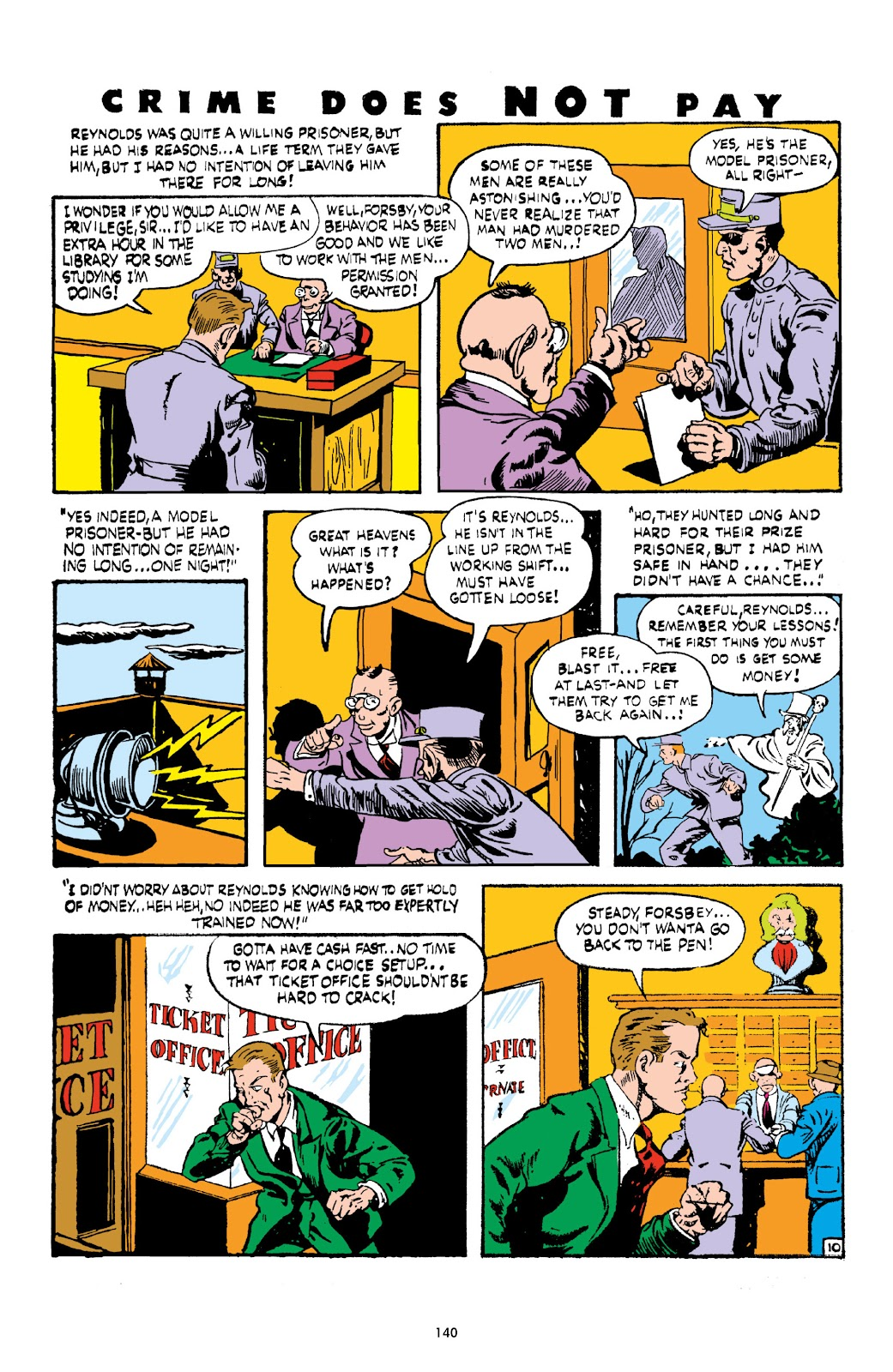 Read online Crime Does Not Pay Archives comic -  Issue # TPB 3 (Part 2) - 40