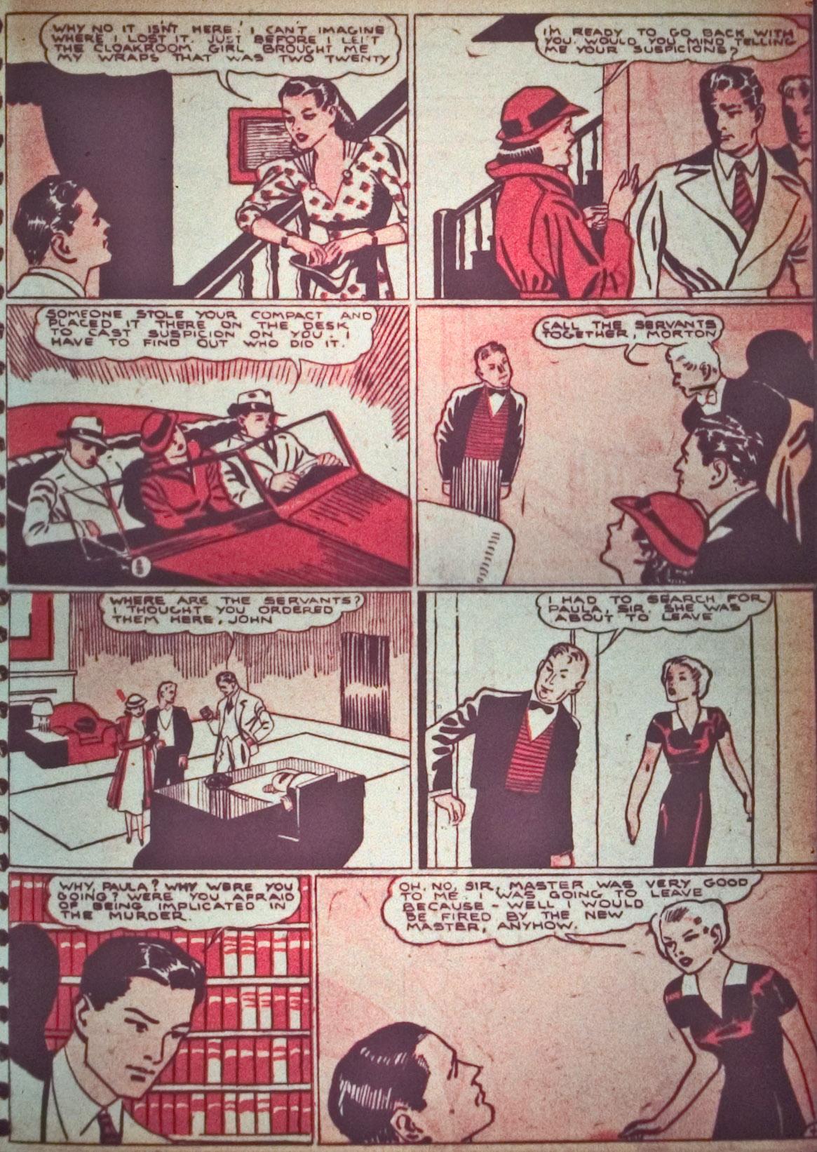 Read online Detective Comics (1937) comic -  Issue #26 - 19