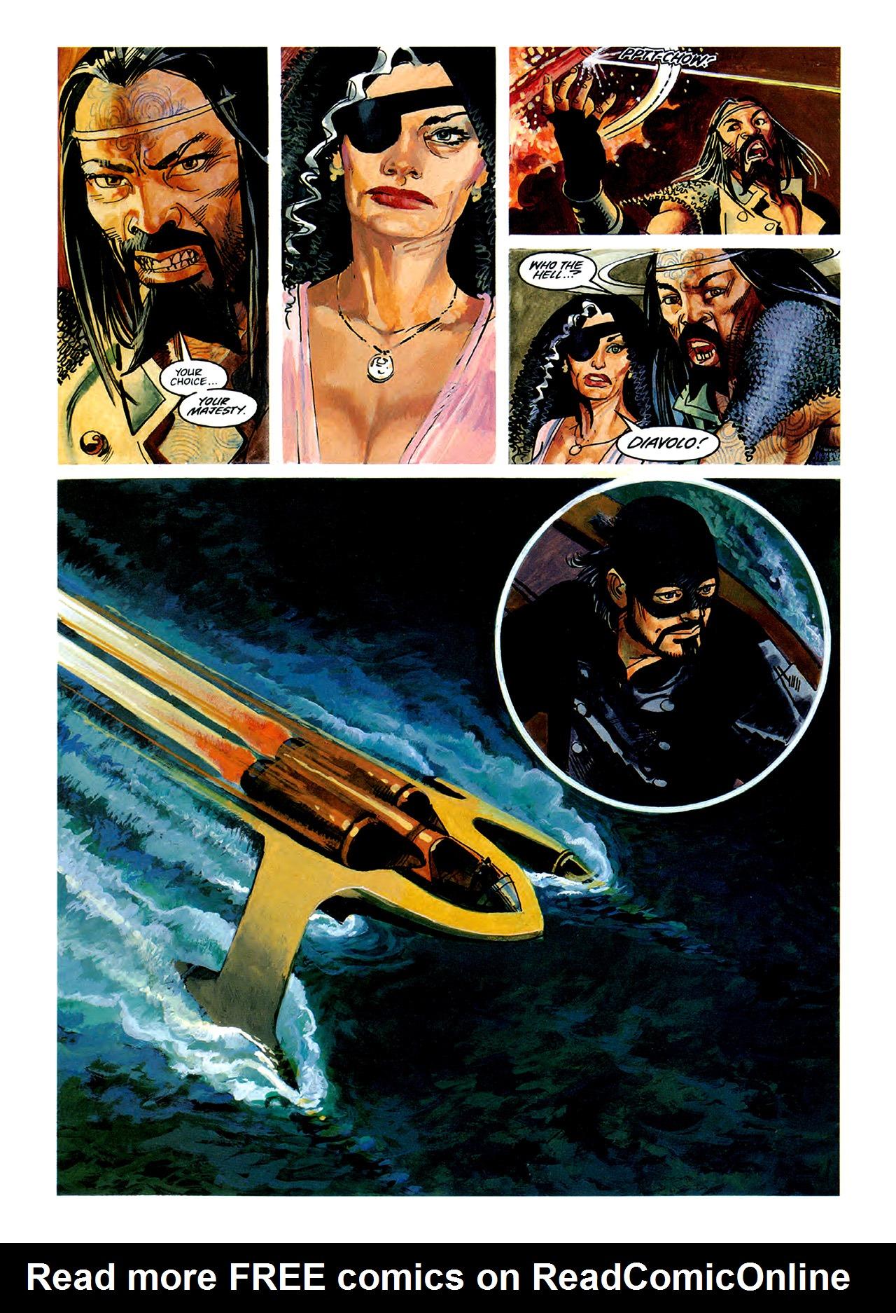 Read online Nikolai Dante comic -  Issue # TPB 3 - 42